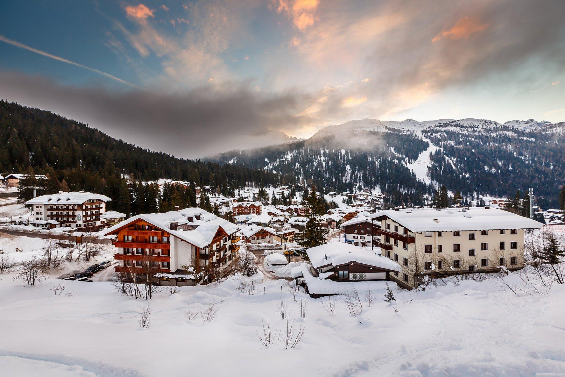 Италия зима картинки