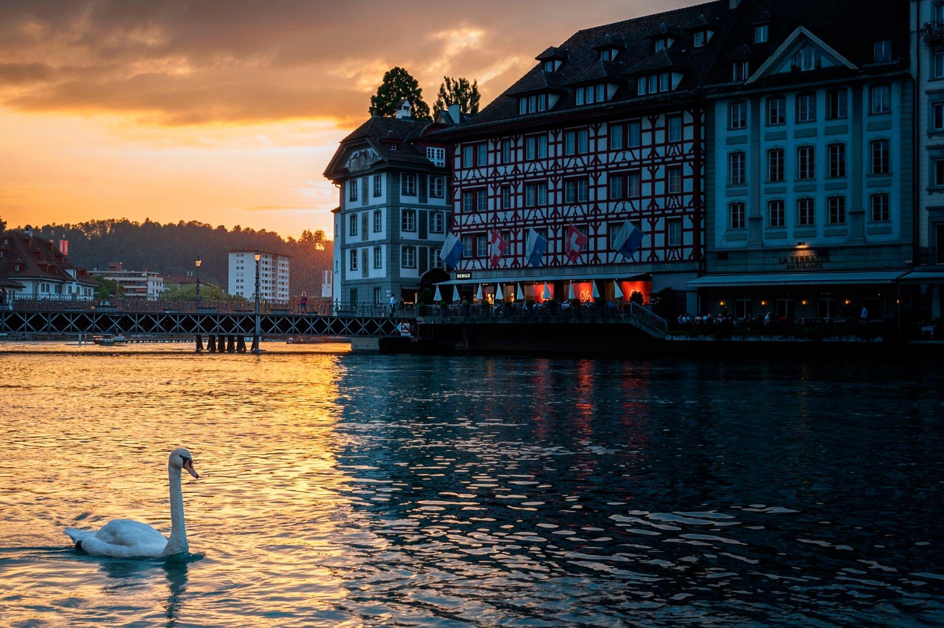 Обои люцерн, швейцария. Города foto 12