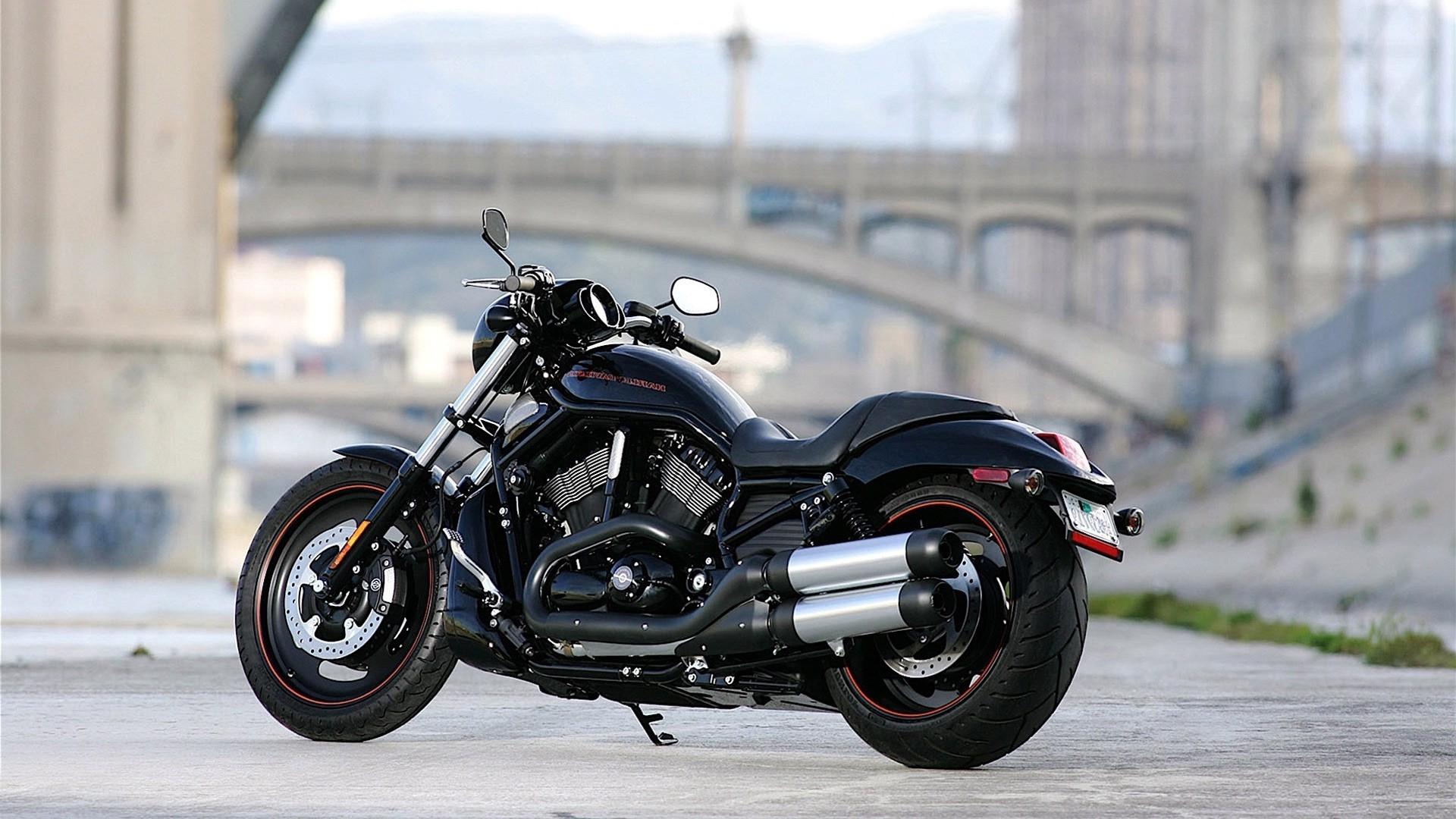мотоцикл черный харлей  № 23722  скачать
