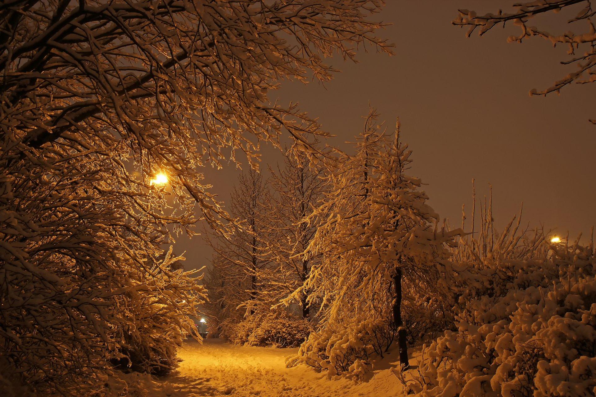 Обои рейкьявик, Исландия, ночь, свет. Города foto 6