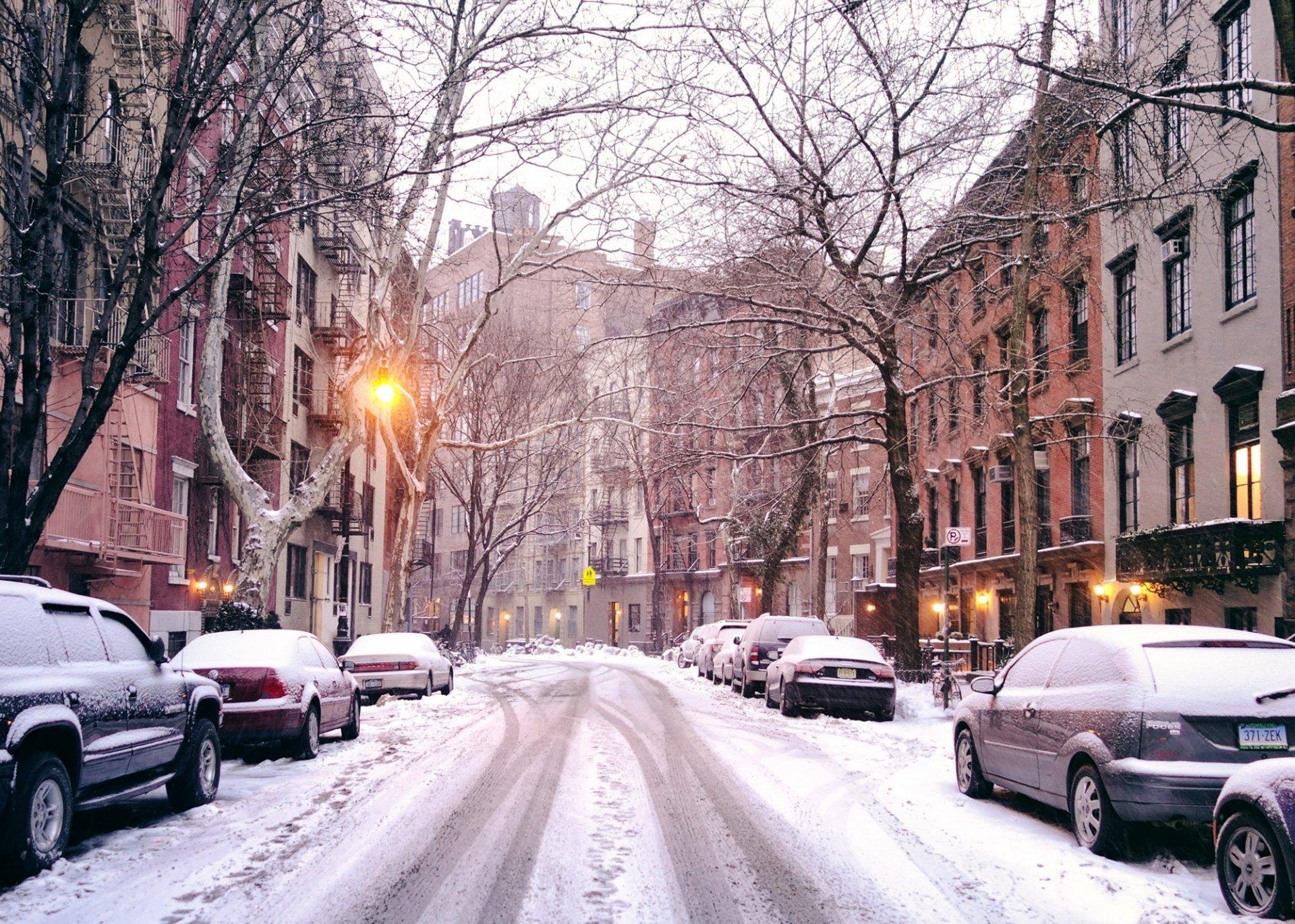 Обои На Рабочий Стол Зима В Городе