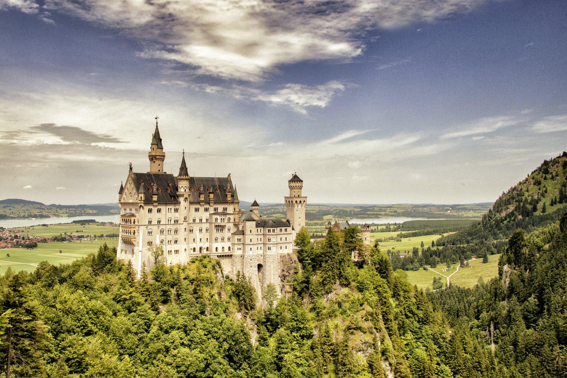 Обои юго-западная, бавария, германия, замок. Города foto 8