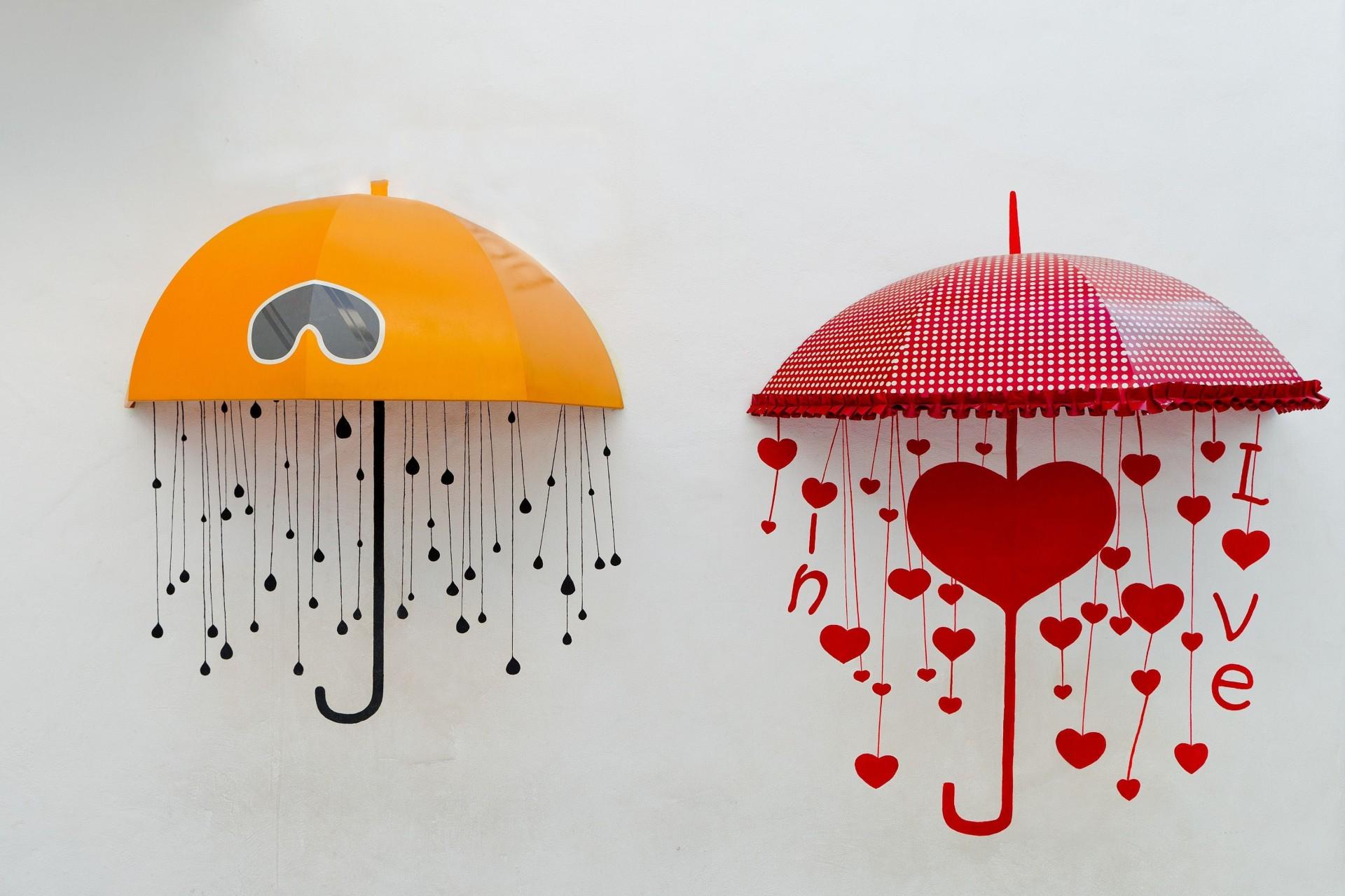 Зонтики на стену из бумаги своими руками 94