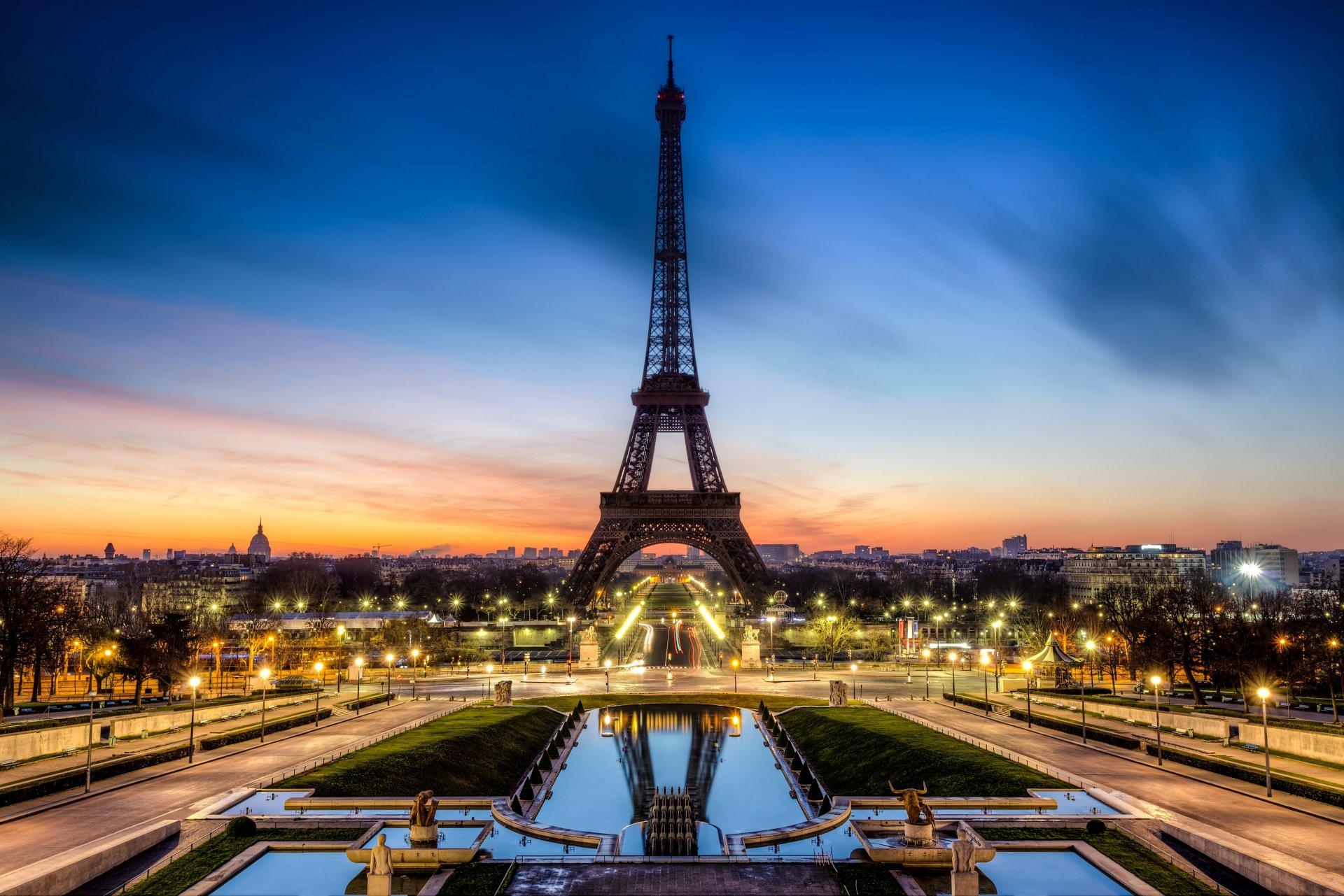 Обои paris, france, Эйфелева башня, la tour eiffel. Города foto 14