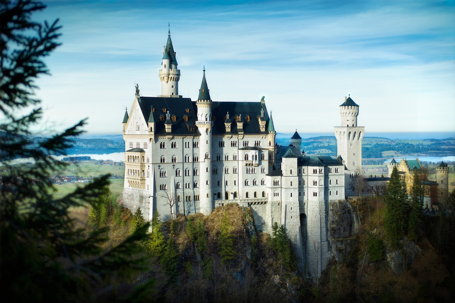 Обои юго-западная, бавария, германия, замок. Города foto 6