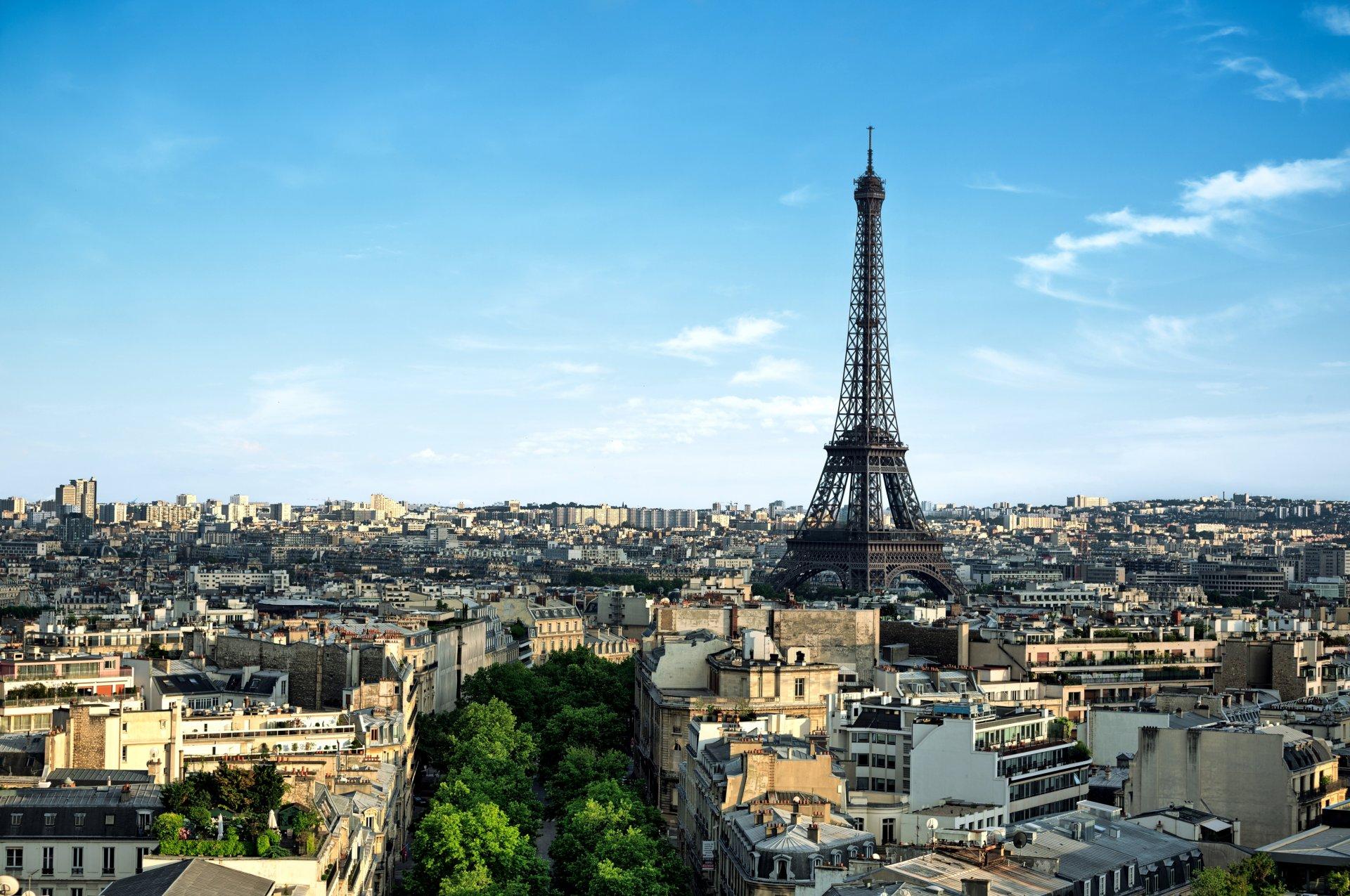 Обои france, paris, la tour eiffel, Эйфелева башня. Города foto 13