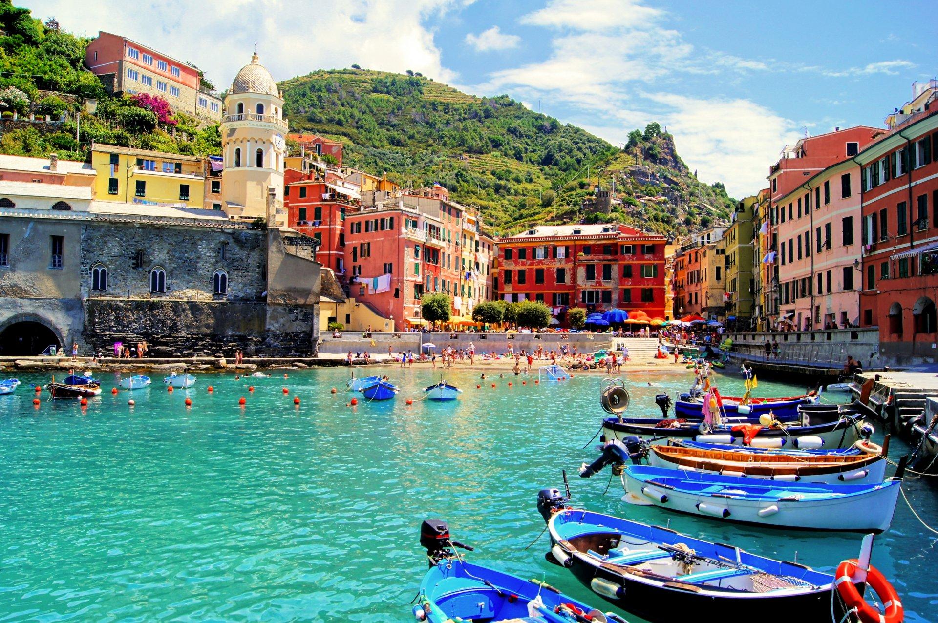 Обои для рабочего стола лето италия