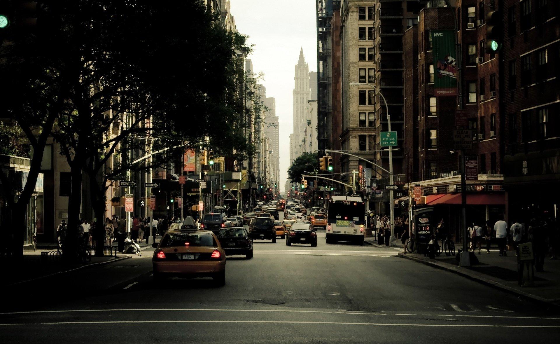улочка в Нью-Йорке  № 1431703 бесплатно
