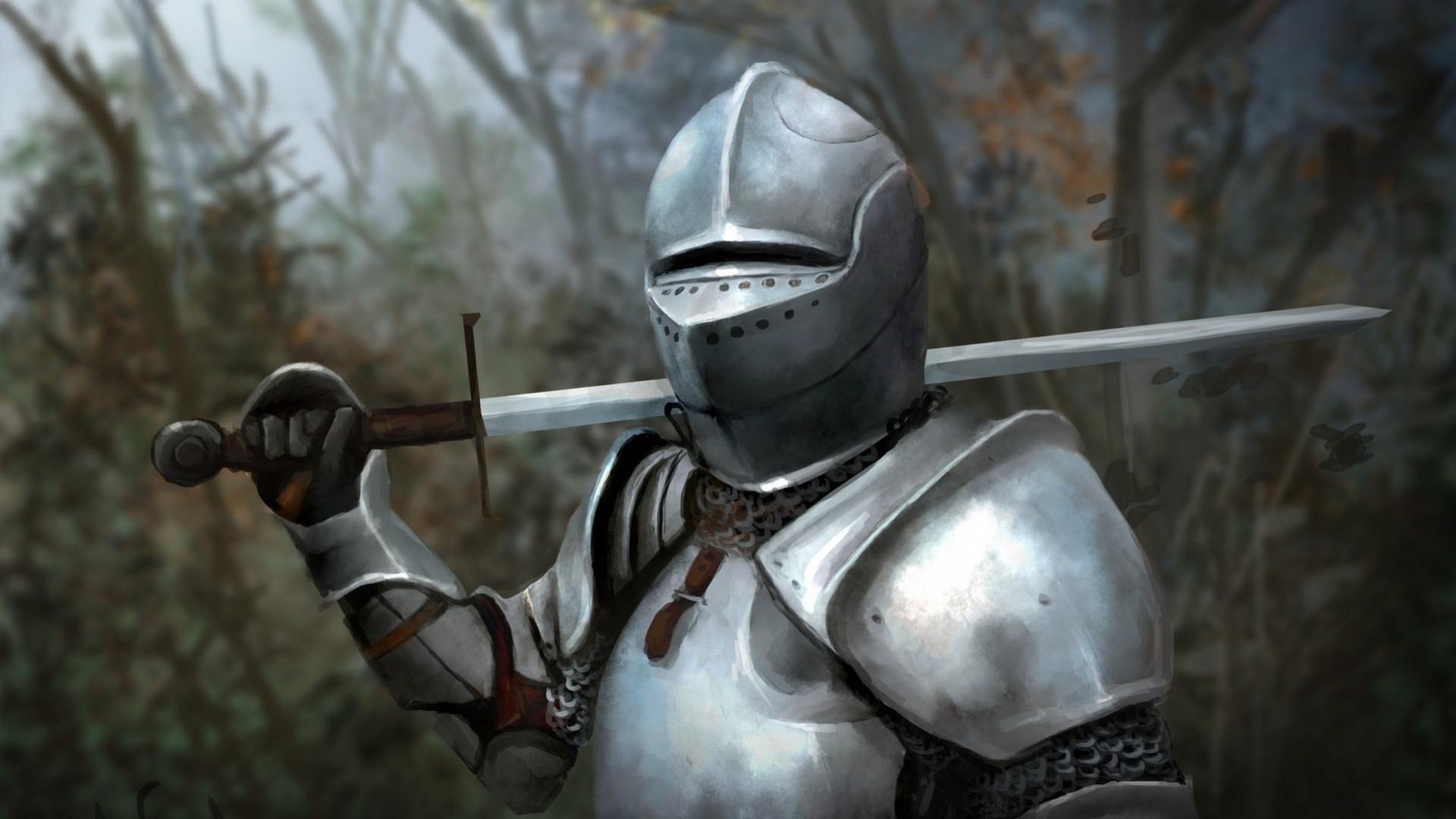 Обои Рыцарь, шлем, доспехи. Разное foto 10