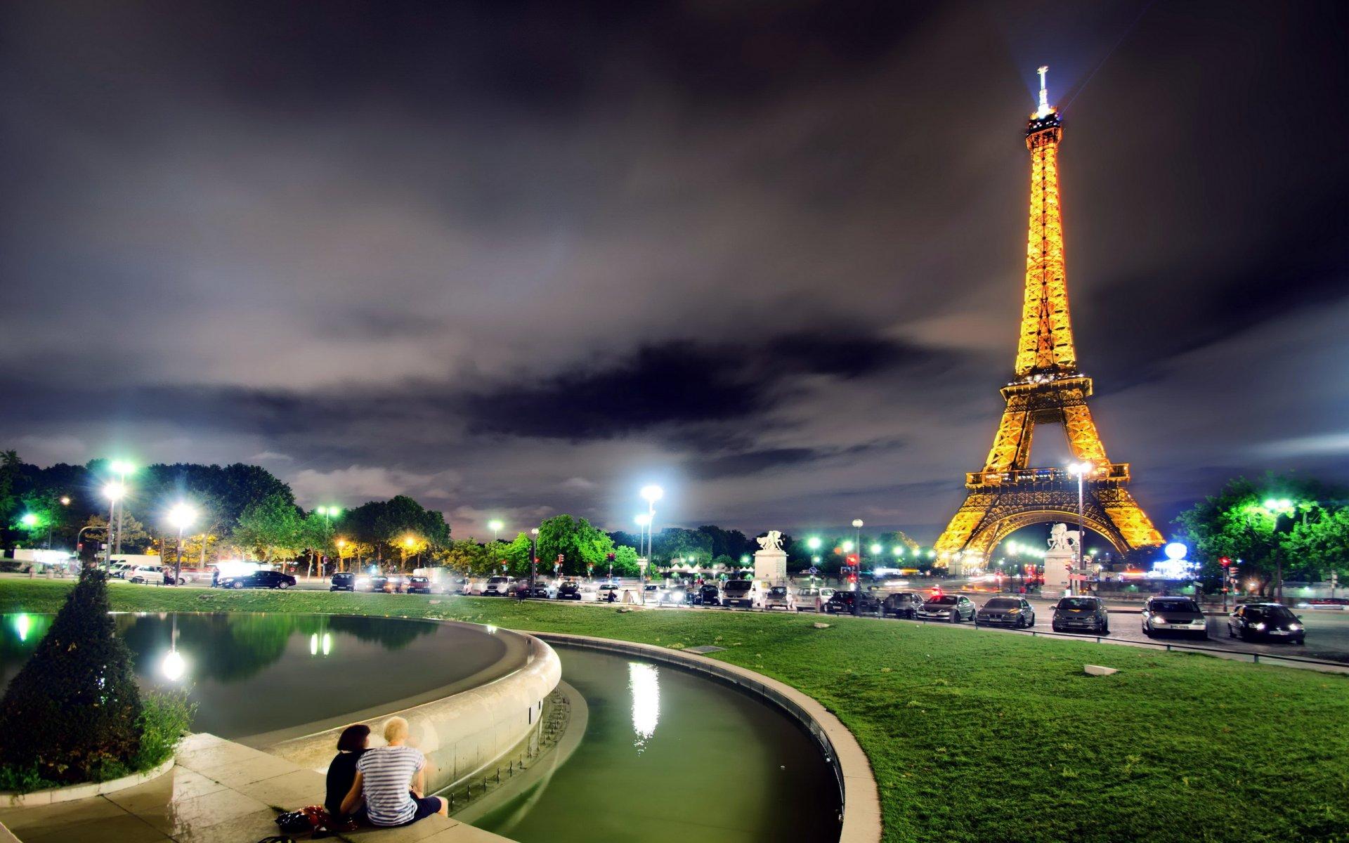 Города париж картинки