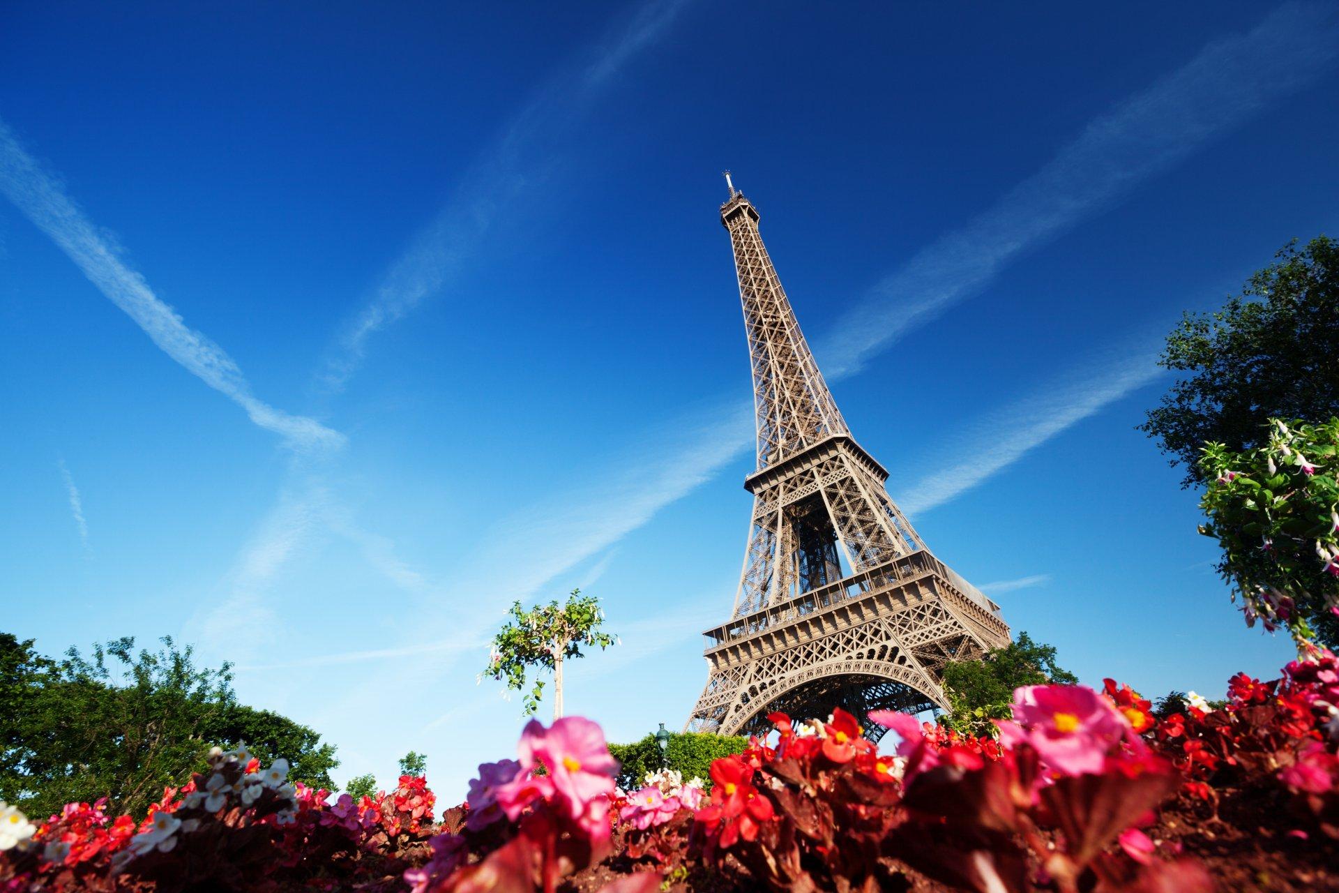 Обои paris, france, Эйфелева башня, la tour eiffel. Города foto 12