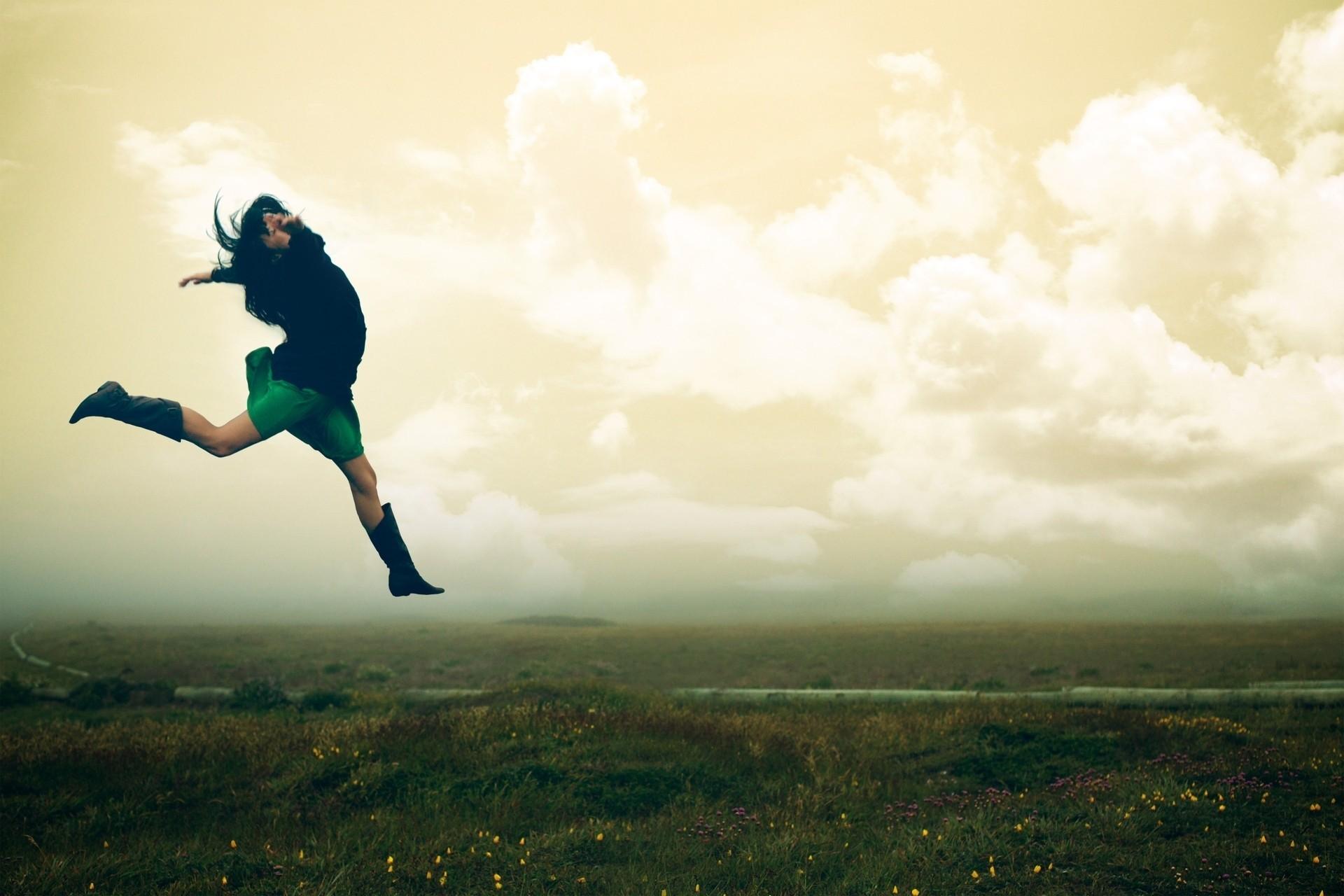 Как сделать фото в воздухе прыжок