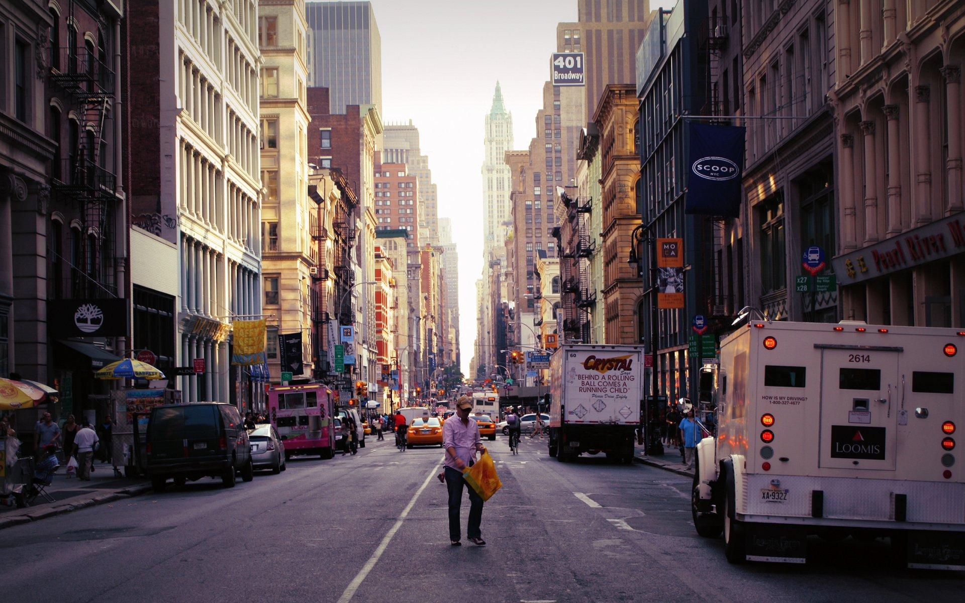 Картинки улицы нью йорка