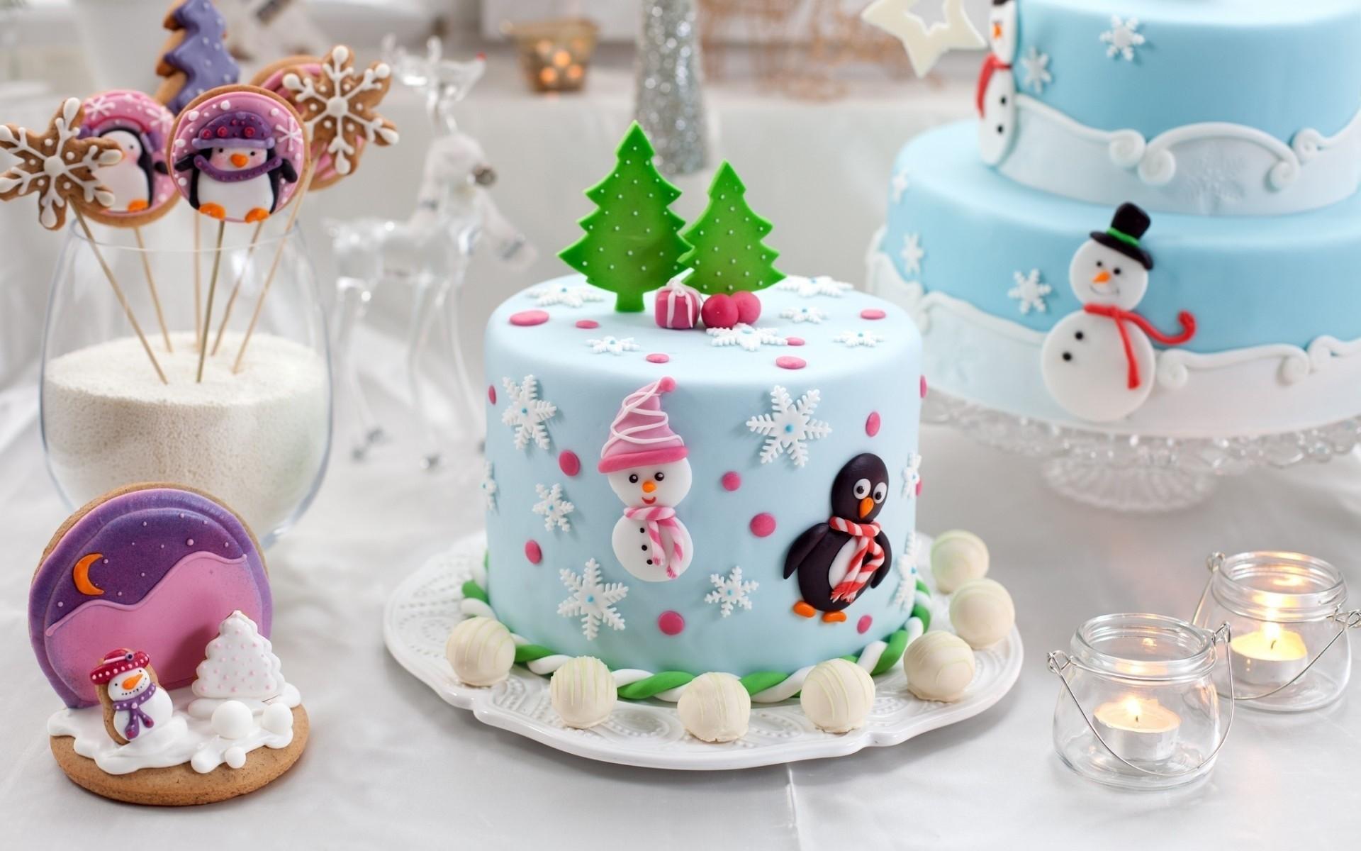 Какие торты есть на новый год