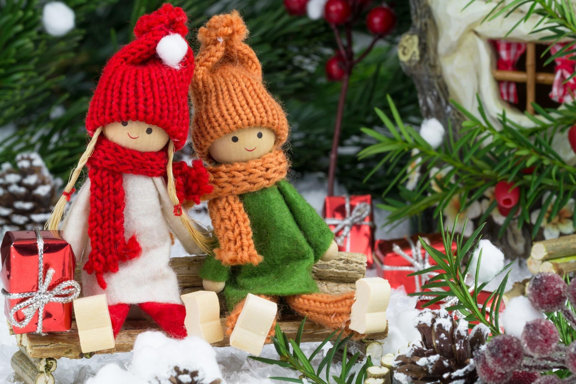 Куклы к новому году своими руками