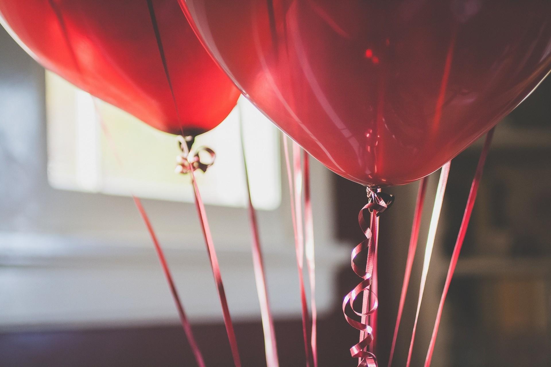 0cdcd83b7c2 воздушные шары лента красный HD обои для ноутбука