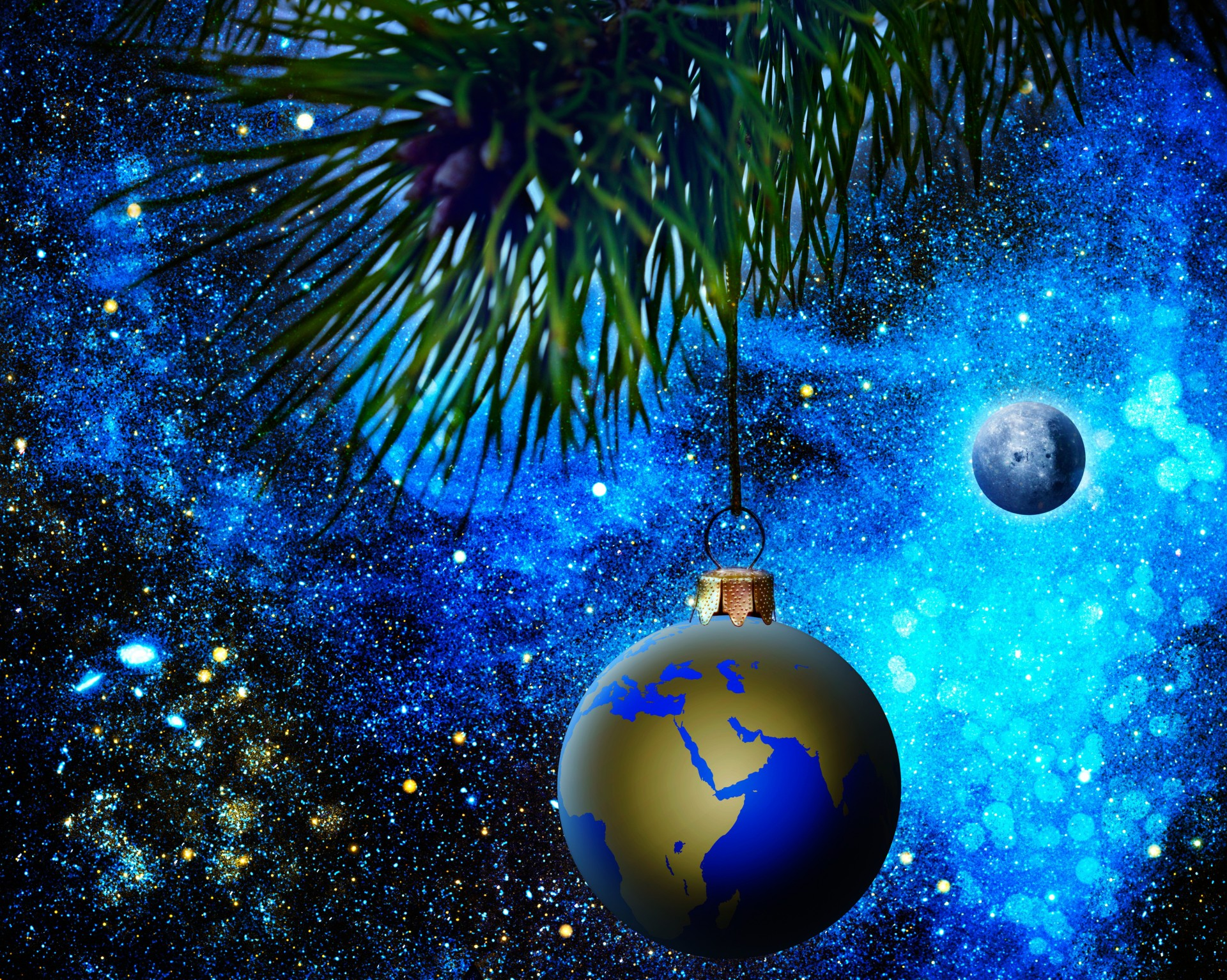 Космическая тема на новый год