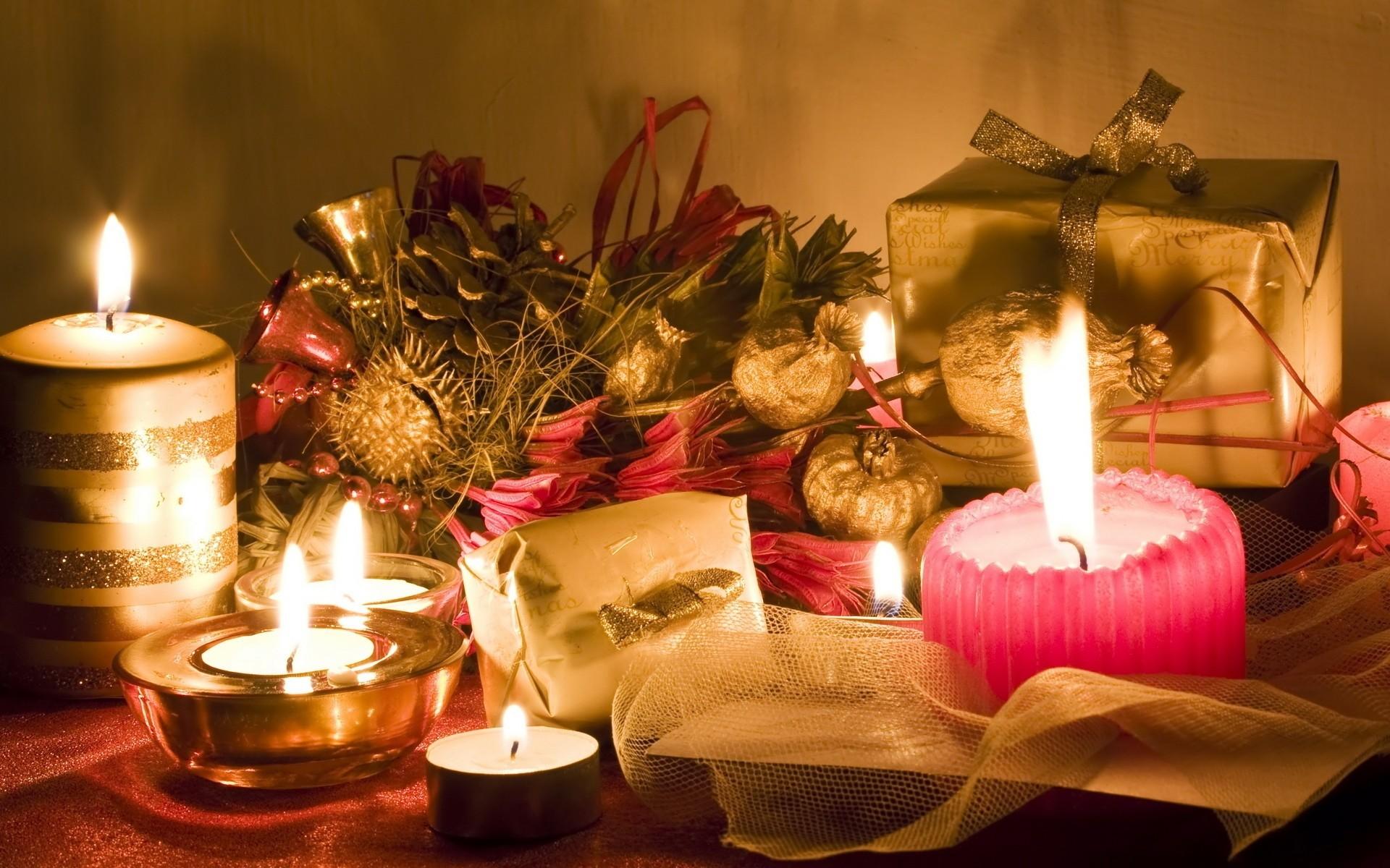 Свечи новый год  № 1395217 бесплатно