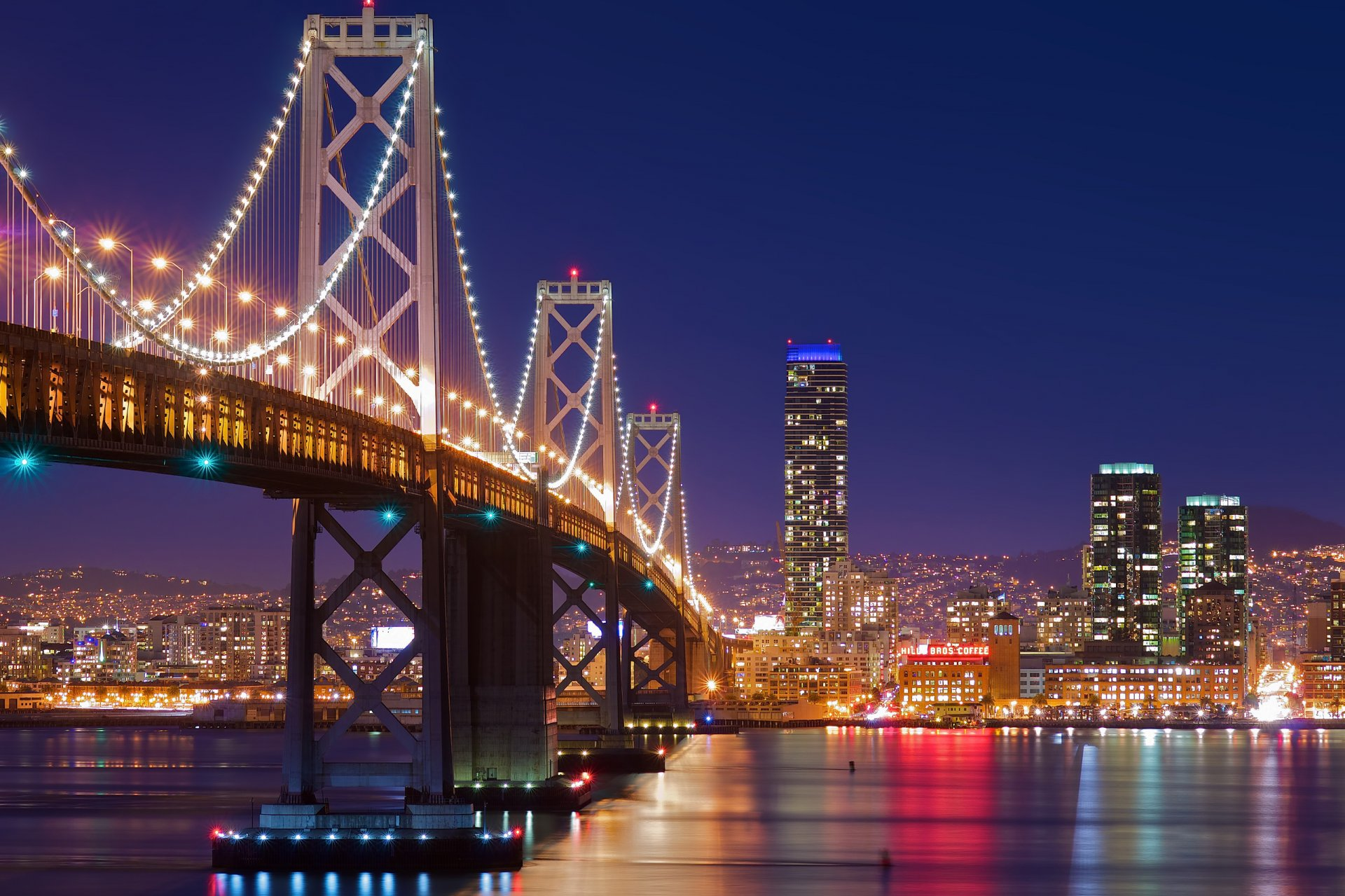 Картинки города с мостами