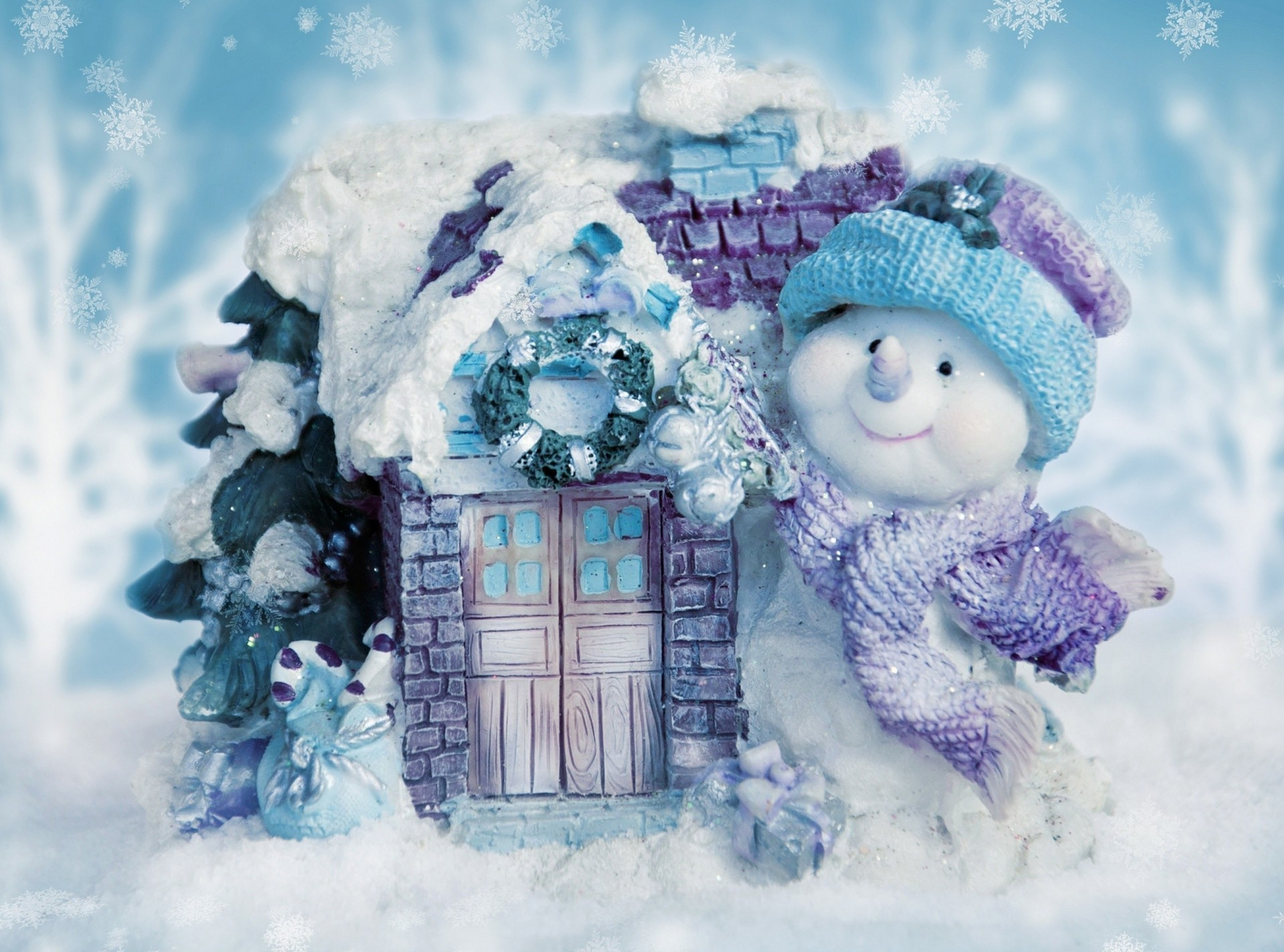 Открытка своими, открытка про зиму красивая