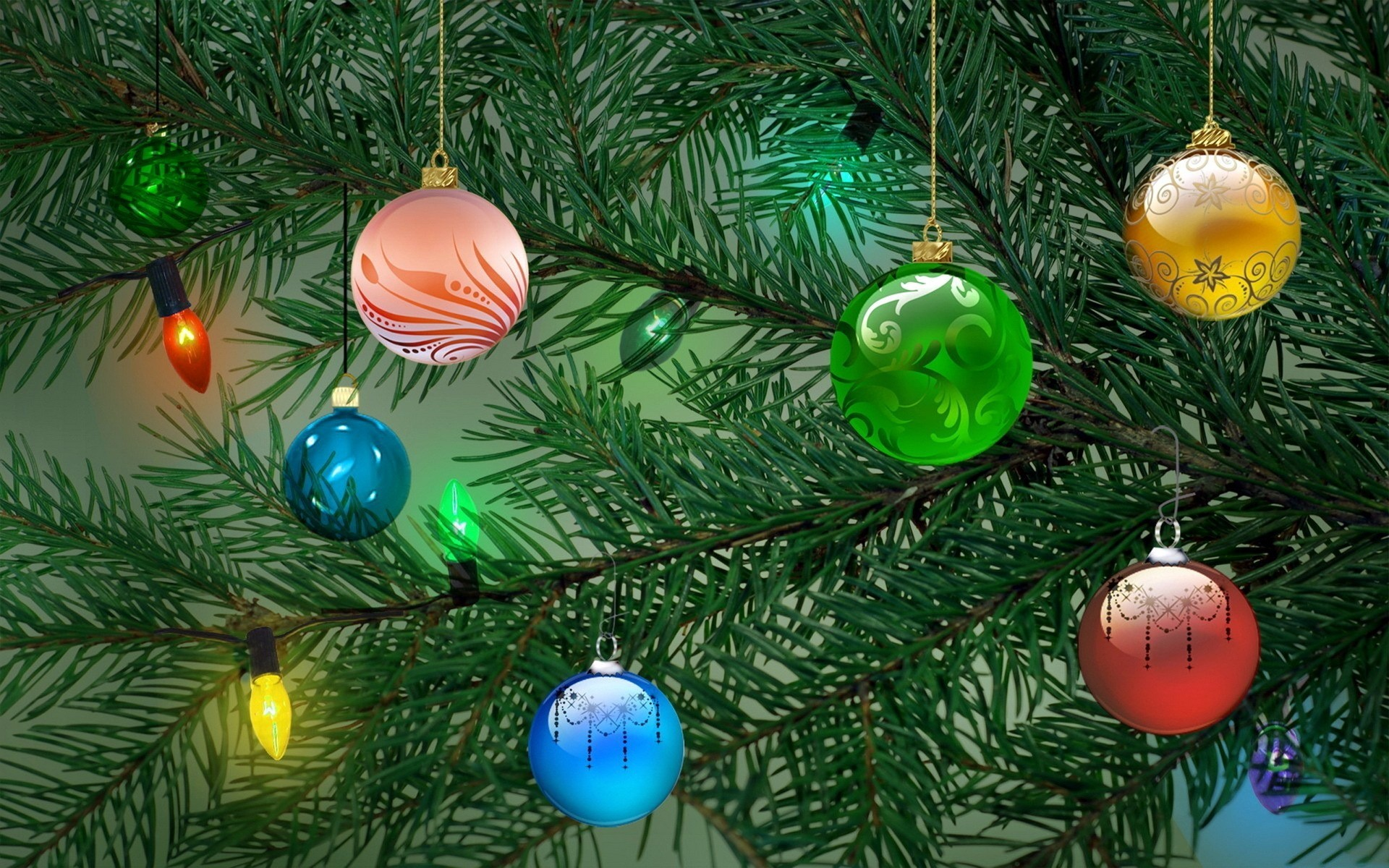 Елочные игрушки елка новый год