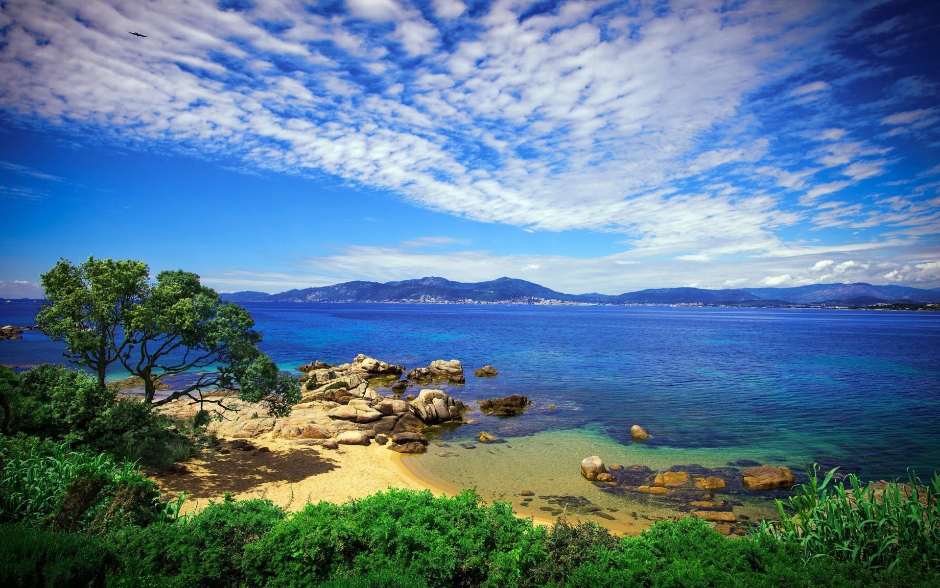 Морские красивые пейзажи мира