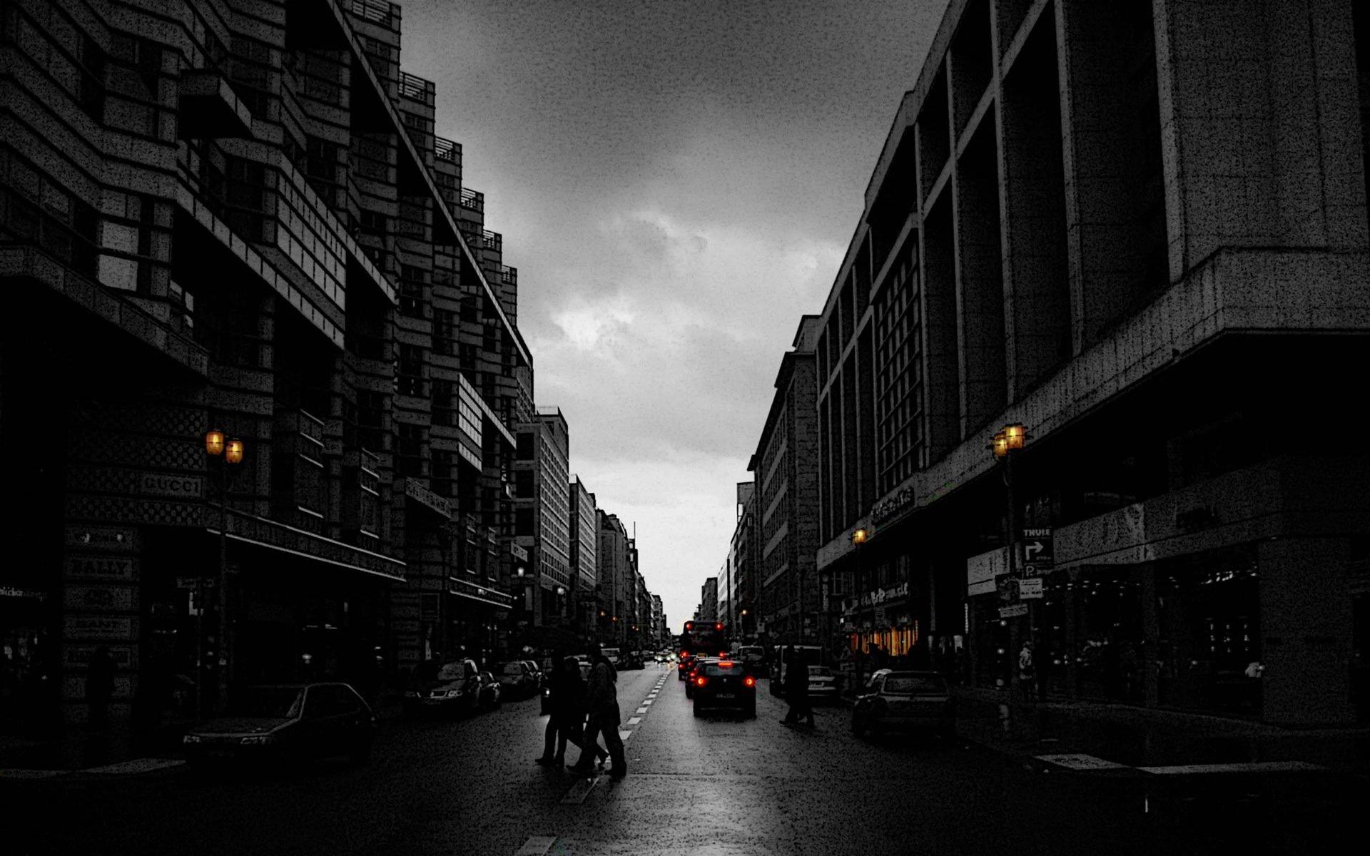 Обои германия, berlin, ночь, фонари, улица. Города foto 16