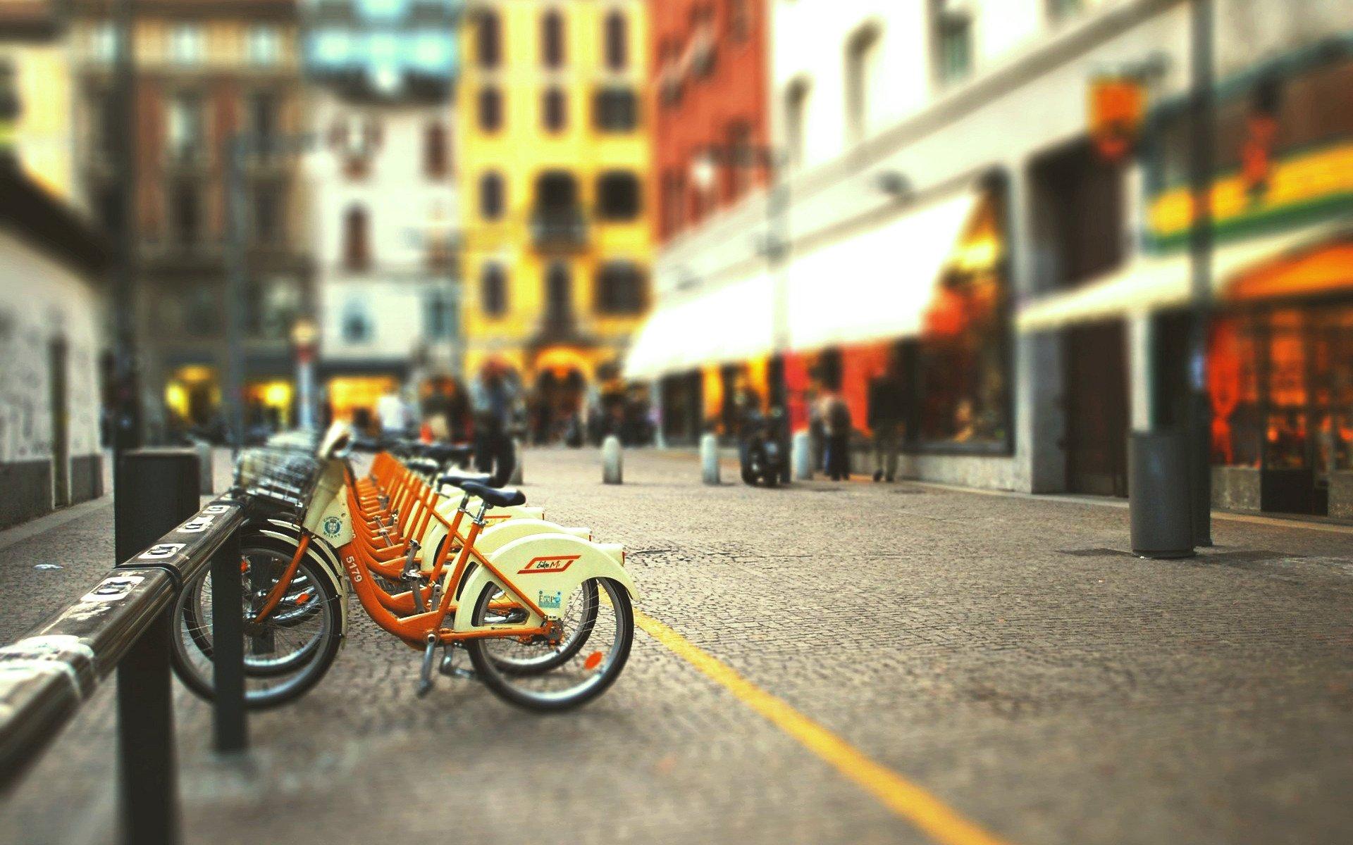 Обои стоянка, велосипед. Разное foto 9