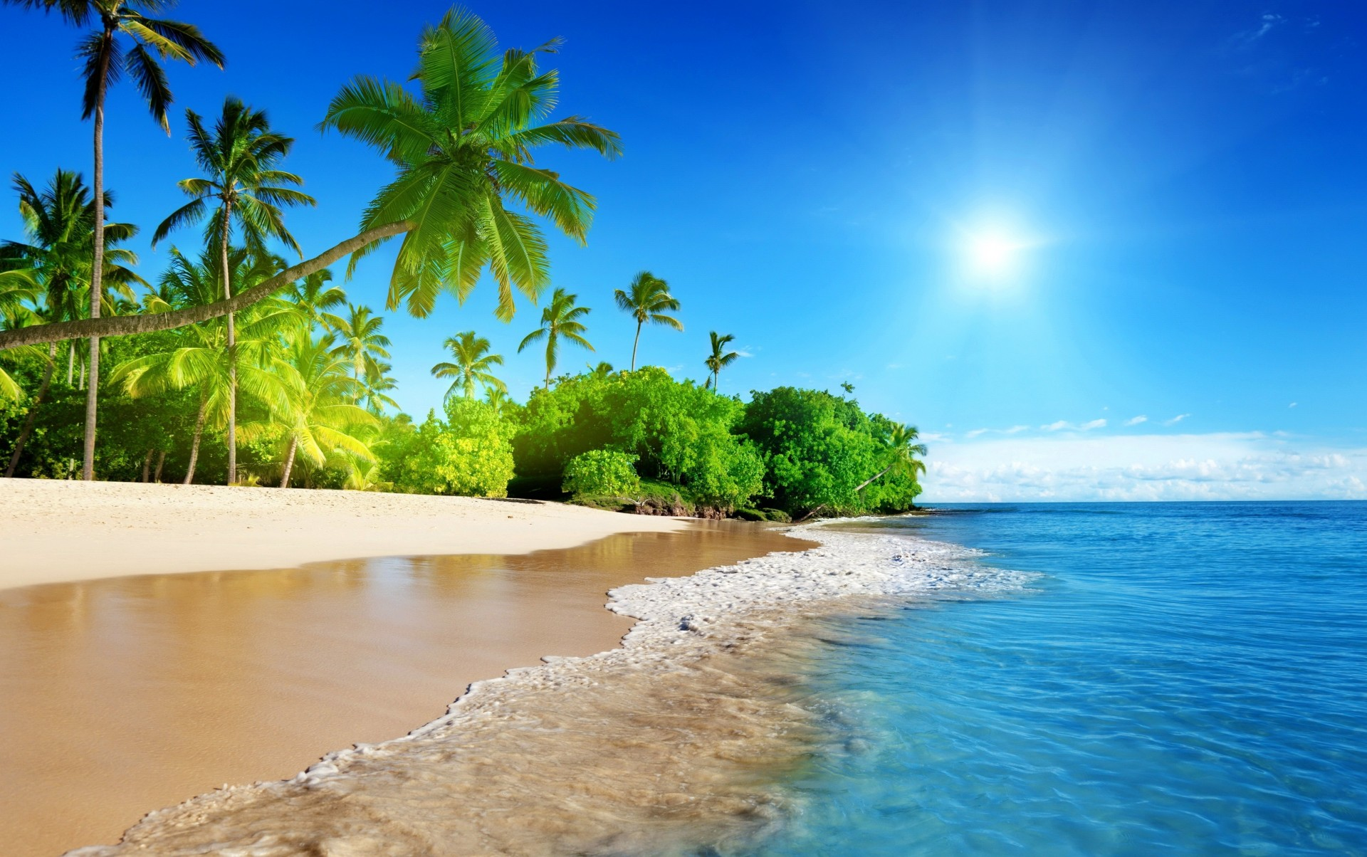 Картинки лето на рабочий стол побережье