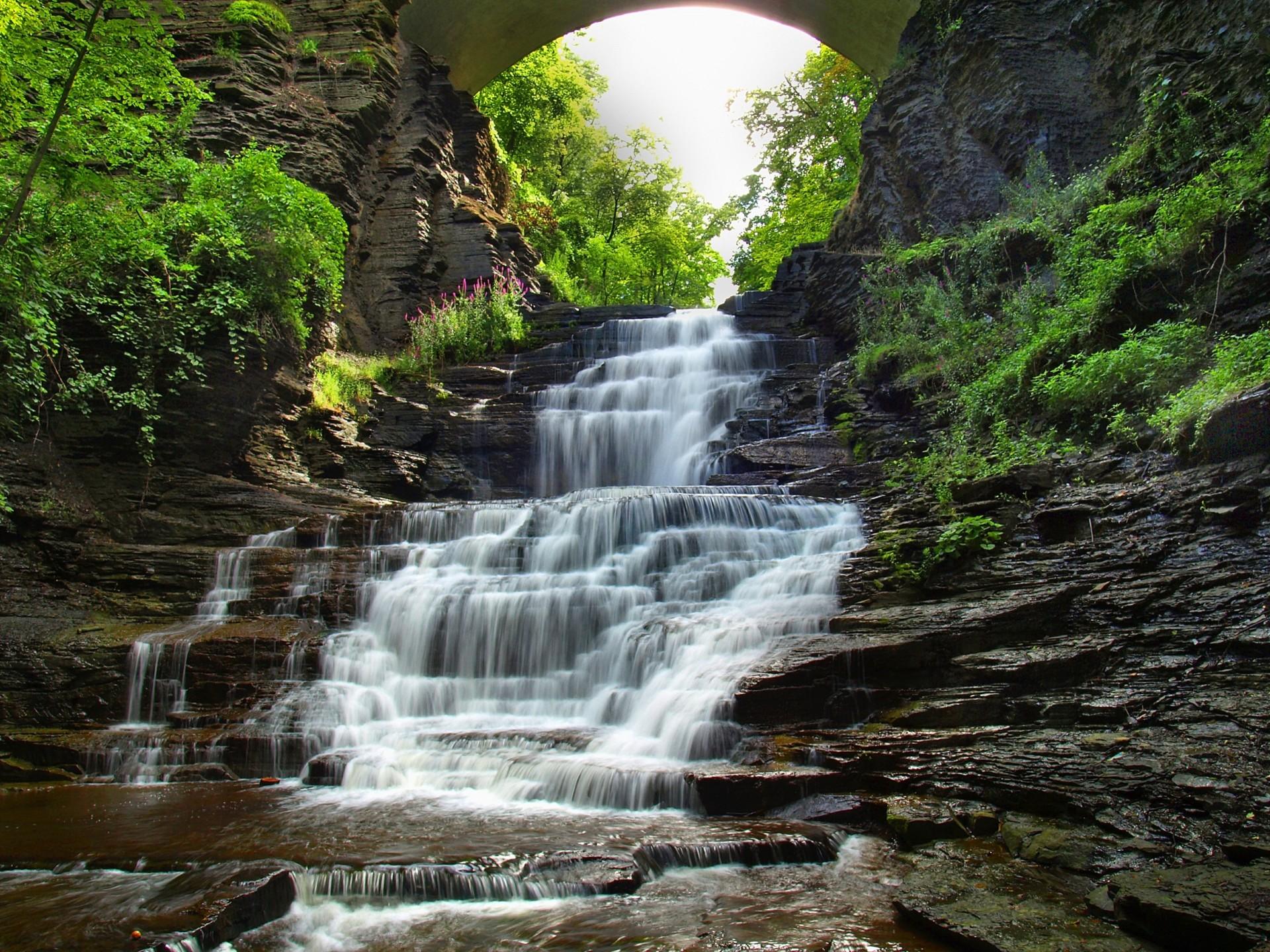 этому, картинка трехслойный водопад мастер-класс, как сделать