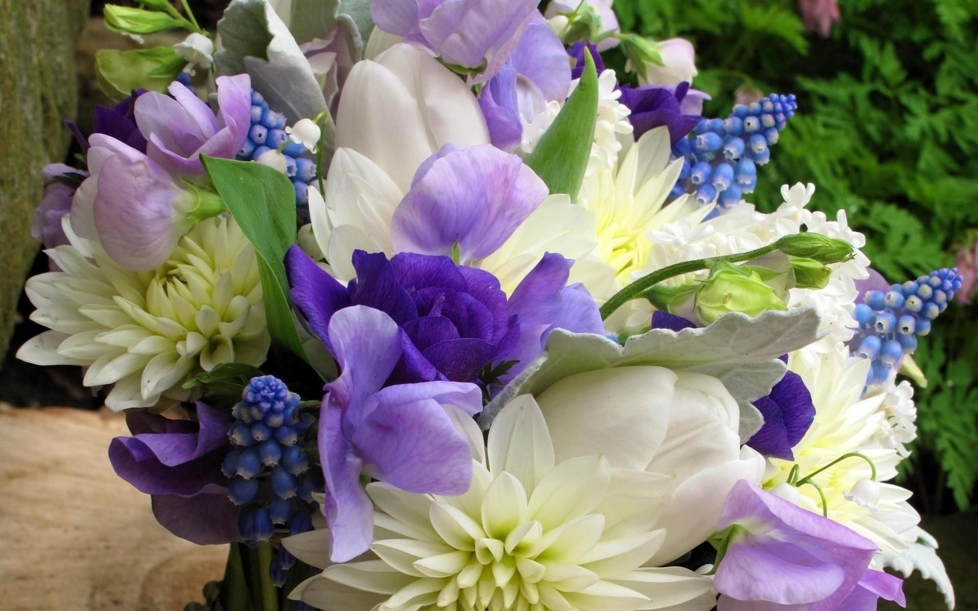 Свадебные, самые красивые весенние букеты