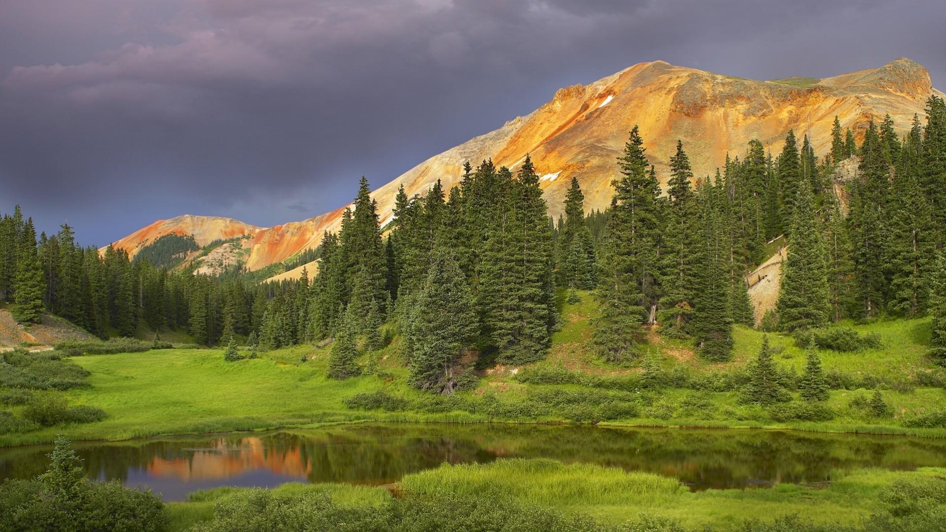 Red Mountain, Uncompahgre National Forest, Colorado  № 1563808  скачать