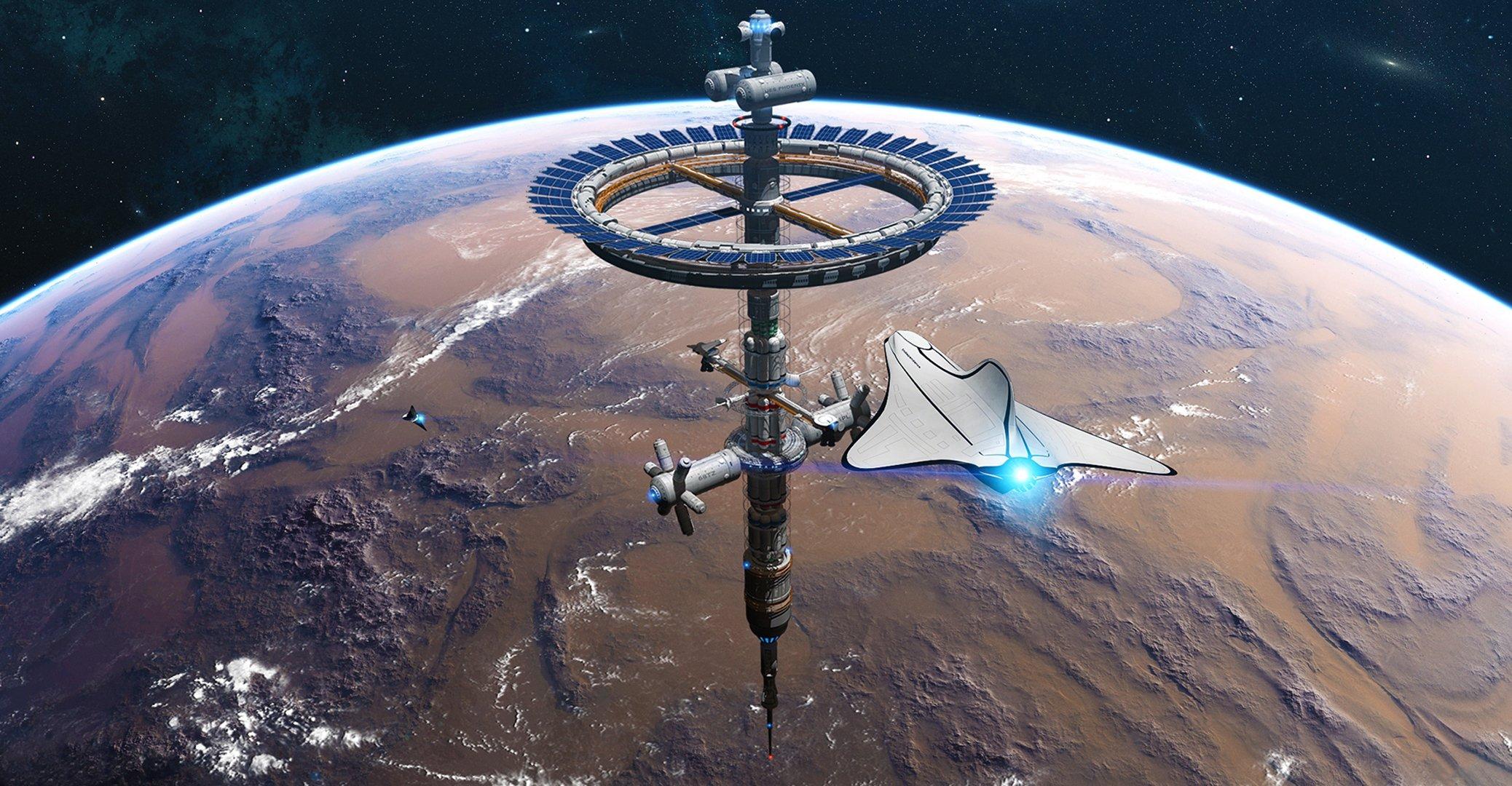 космос технологии космоса в картинках