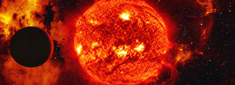 самая большое солнце на картинке декоративной