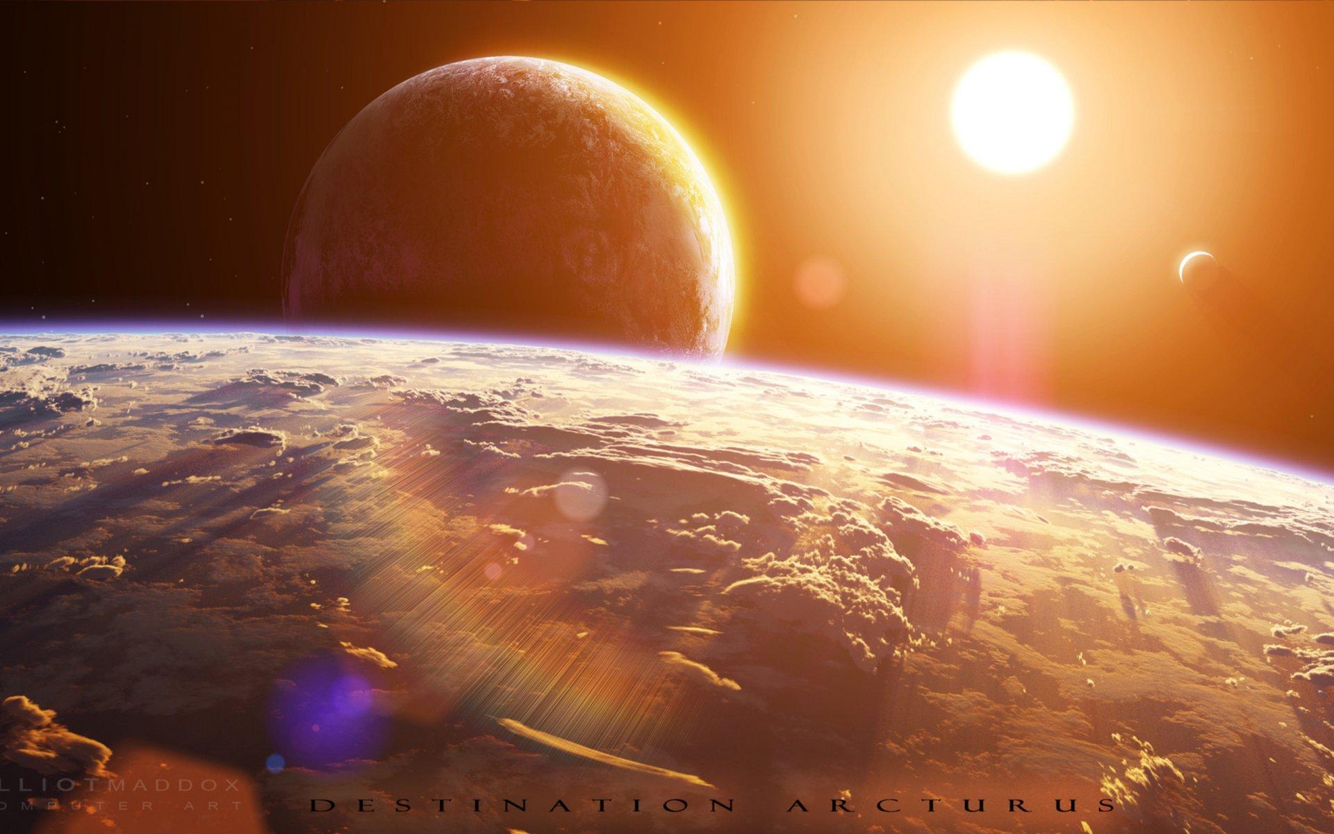 Картинки землю планета солнце