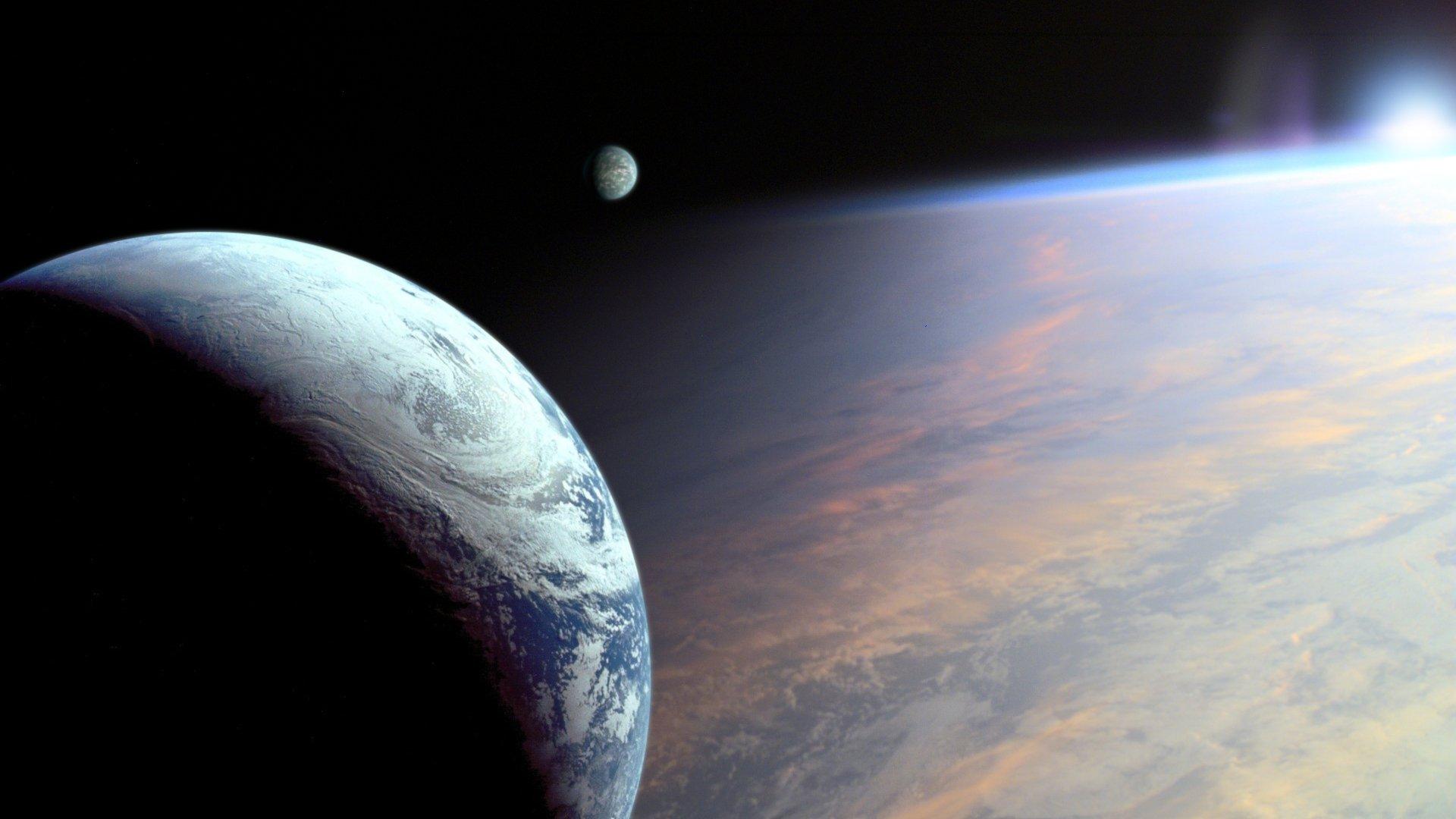 Обои планета космос орбита картинки на рабочий стол на тему Космос - скачать  № 1757021 бесплатно