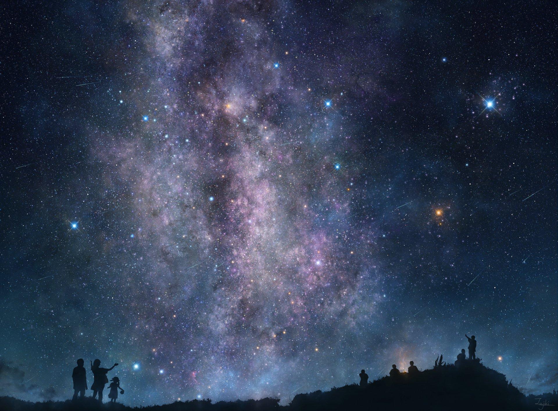 Картинки неба звезды