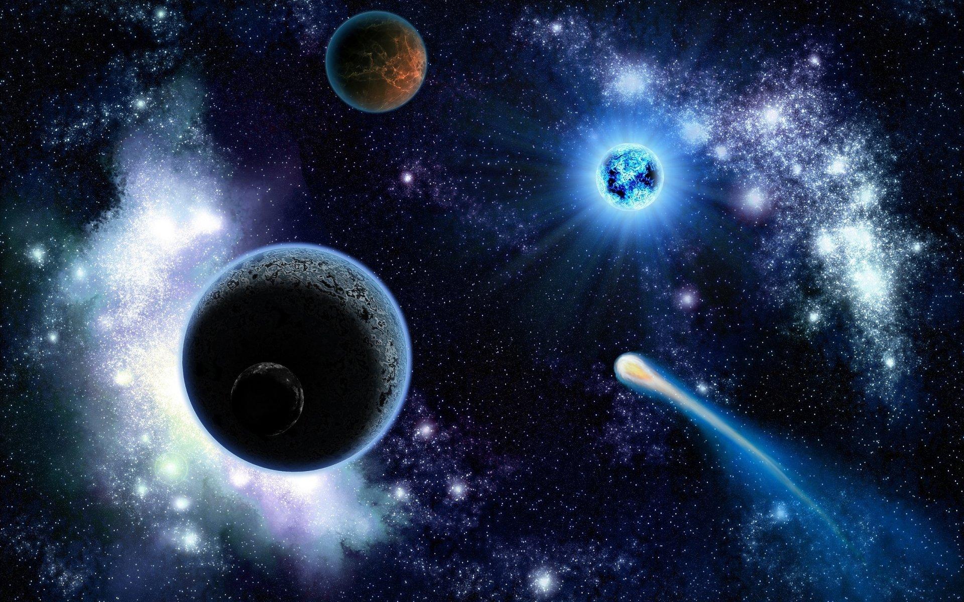 космос все картинки планет галактики полезную