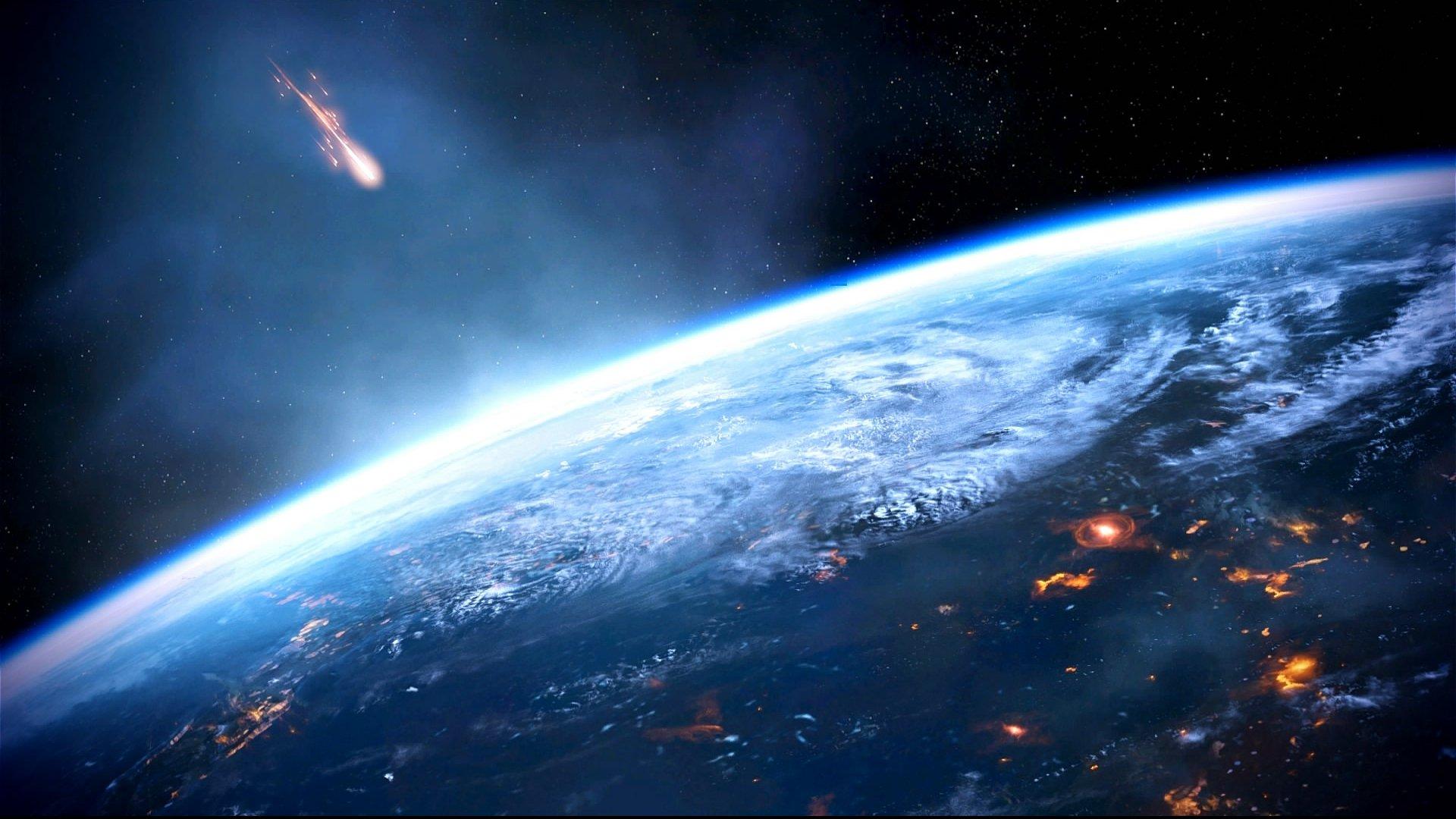 метеорит поле дерево дети  № 1801998  скачать