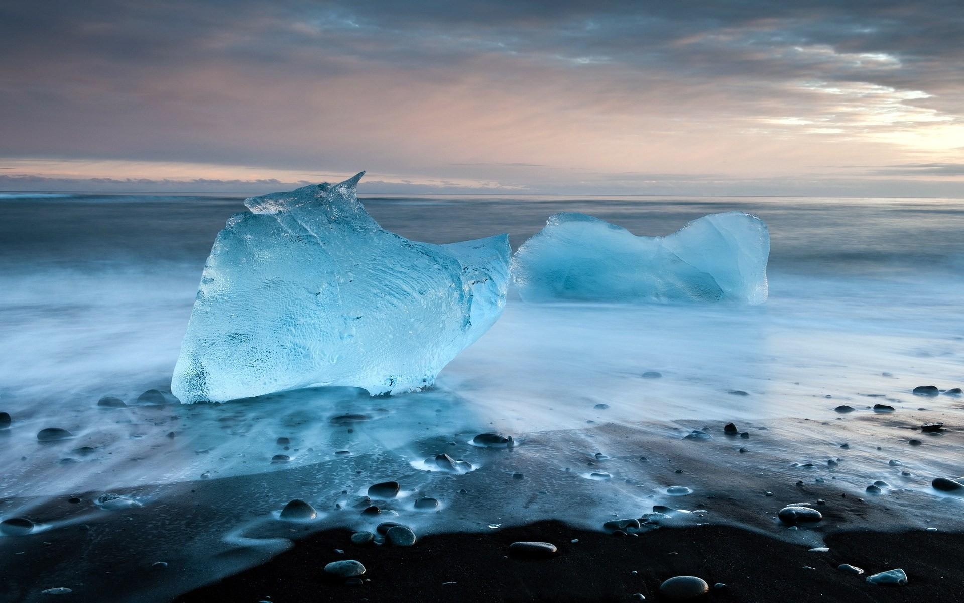 ледяные глыбы небо  № 2863151 бесплатно