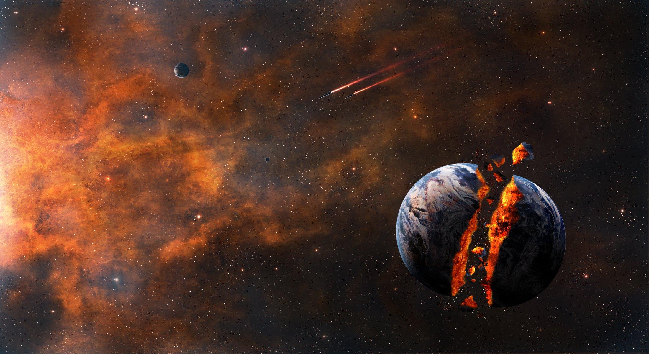 Обои Ужасающий космос картинки на рабочий стол на тему Космос - скачать без смс