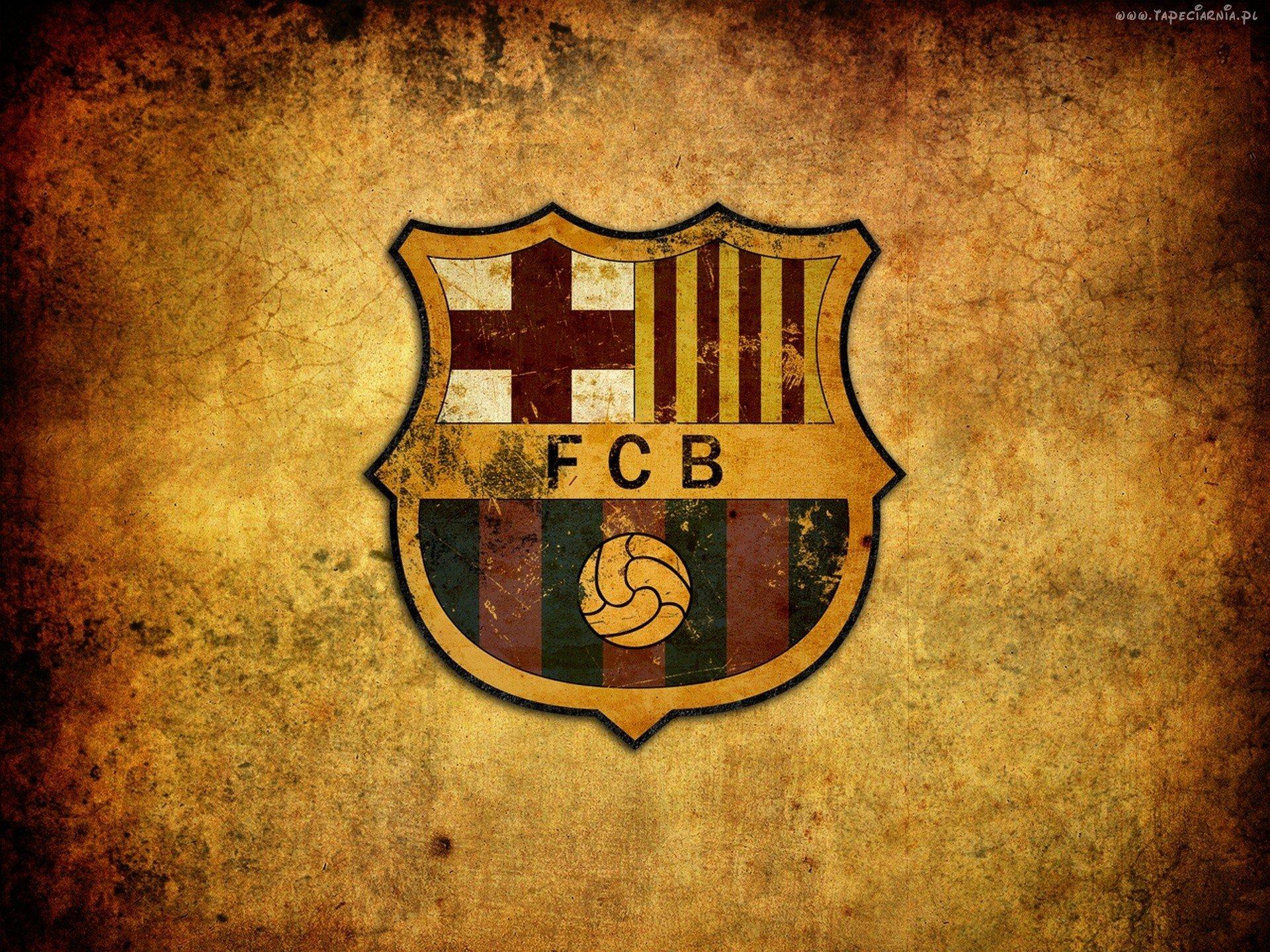 Barselona Futbol Ispaniya Emblema Fcb Hd Oboi Dlya Noutbuka