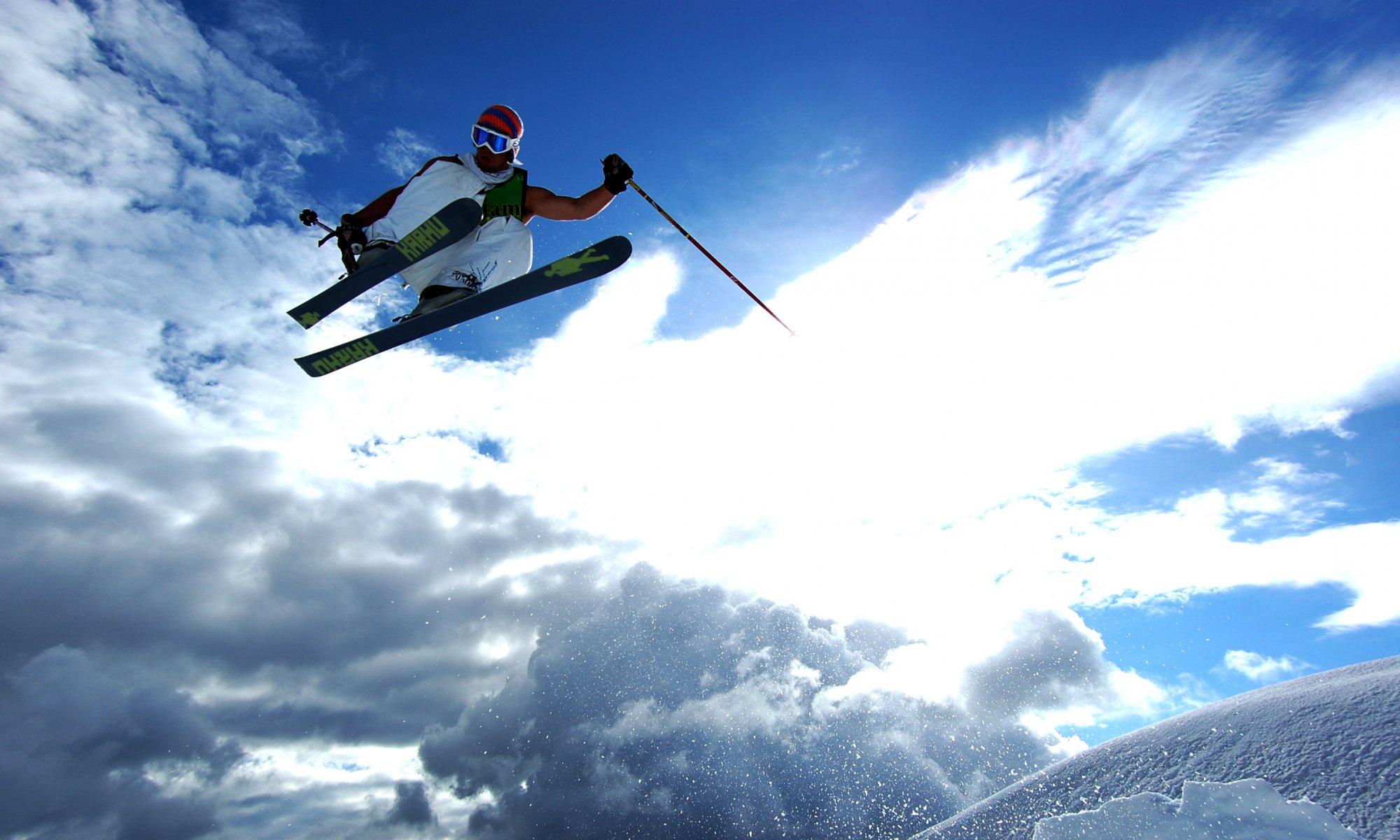 русской обои на тему лыжи дружба проверена