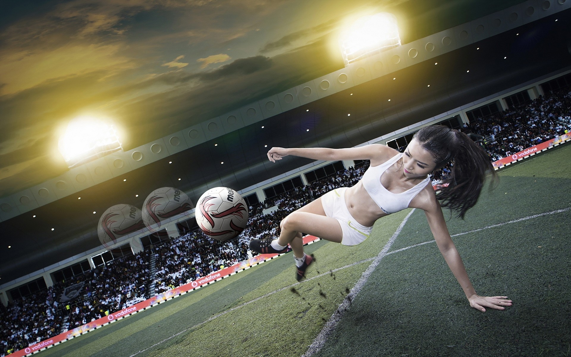 football girl by katherine brush Leaders of the pack england women's cricket, football and rugby stars are hoping to inspire our girls — as bowler katherine brunt says 'bullies.