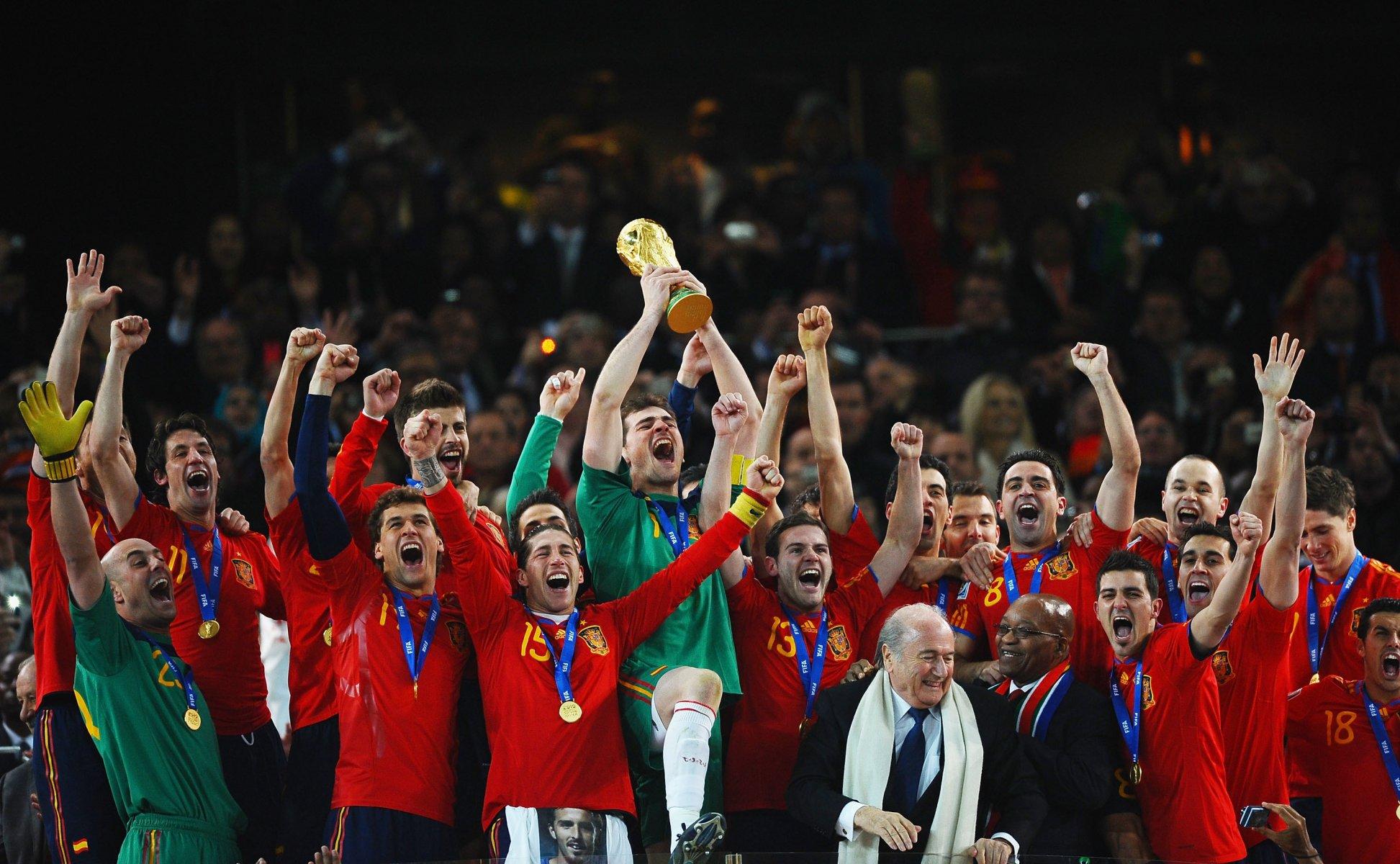 Футбол испании 2010