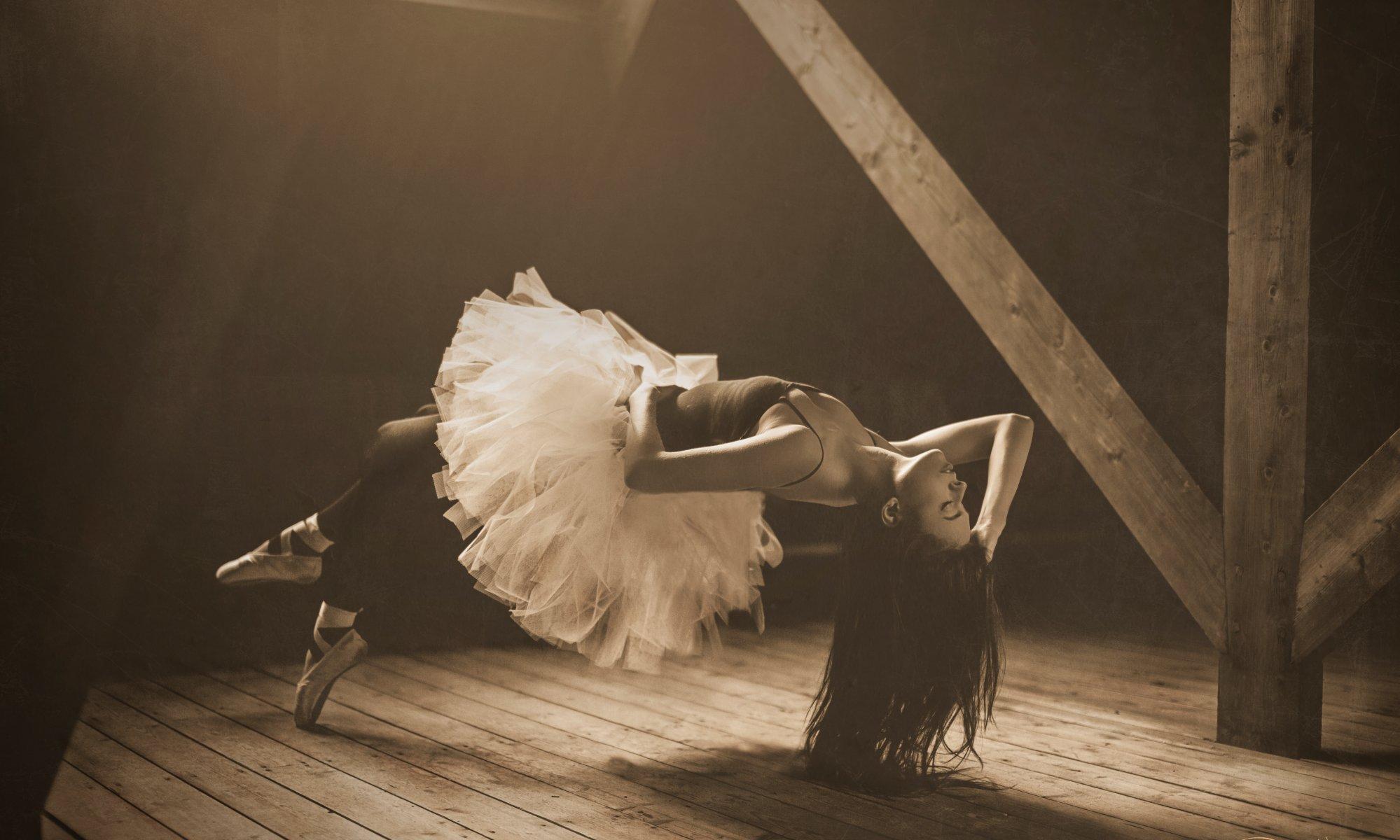 Упавшая балерина картинка