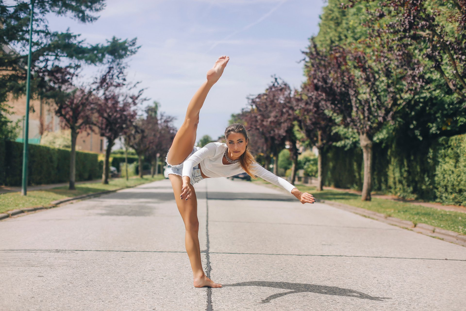 снимки сделаны фото гимнасток с ногами тоже образованная