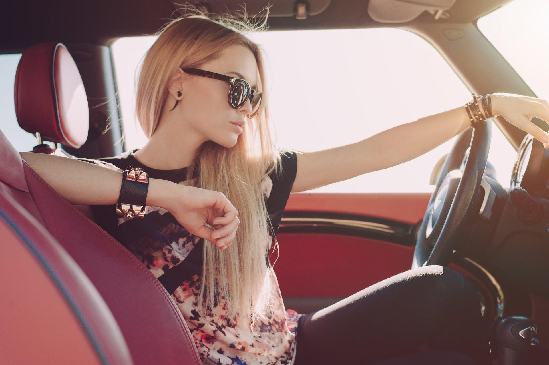 Красивые девушки фото блондинки стильные