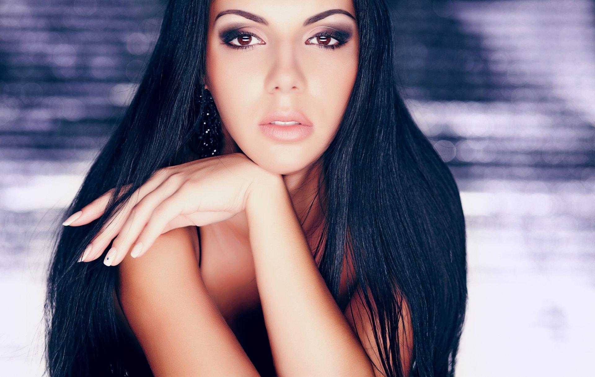 Фото красивой девушки брюнетки 10 фото, Длинноногие брюнетки (66 фото) 21 фотография