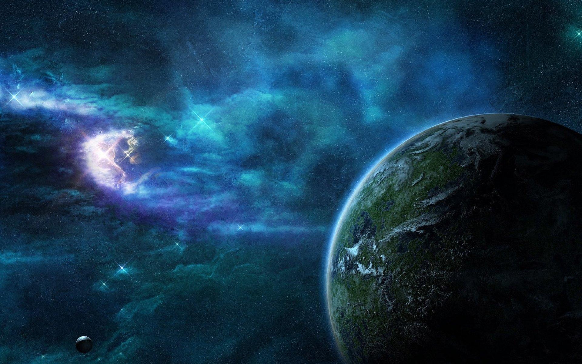 Обои планета космос орбита картинки на рабочий стол на тему Космос - скачать  № 1757069 загрузить